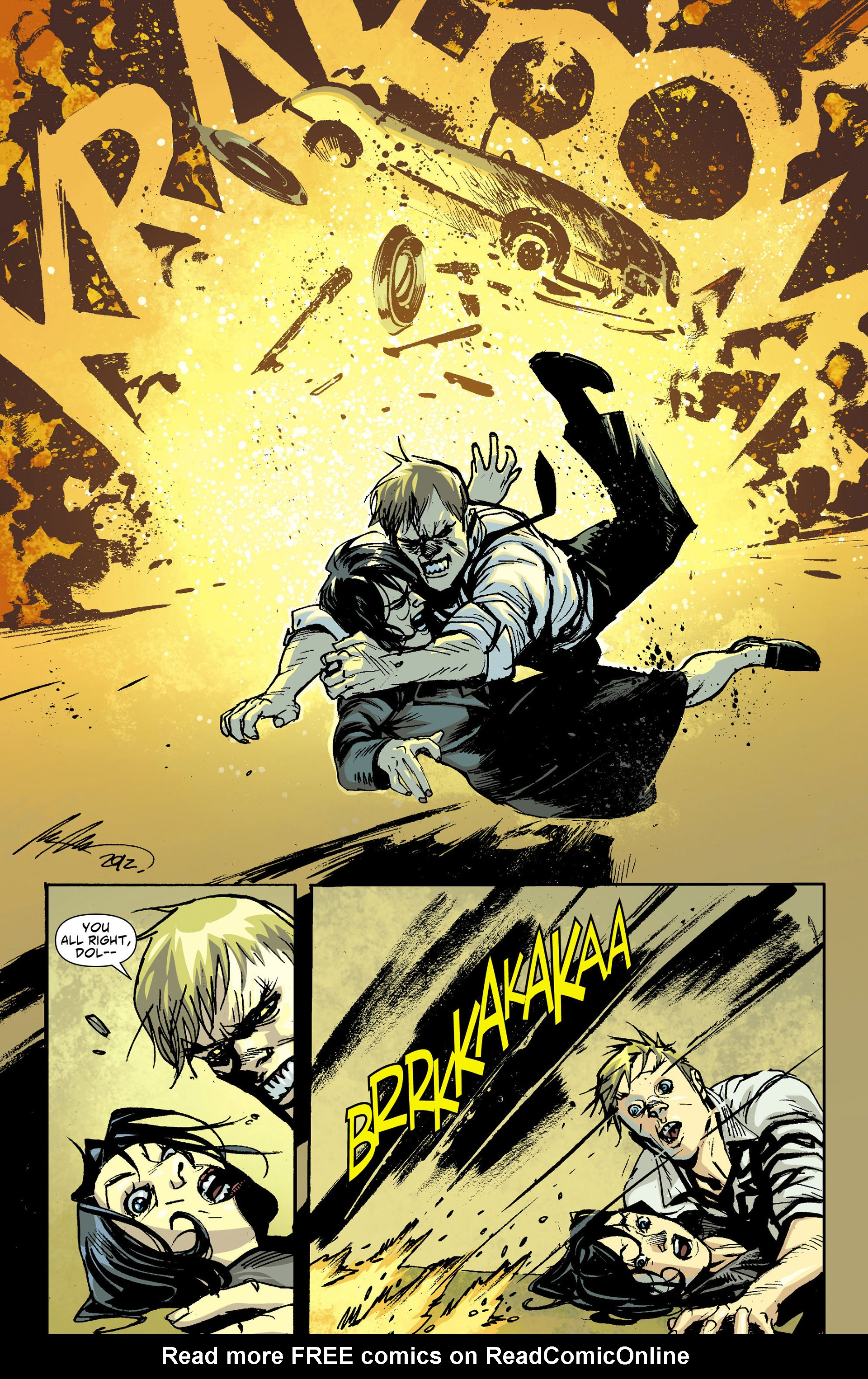 Read online American Vampire comic -  Issue #30 - 9