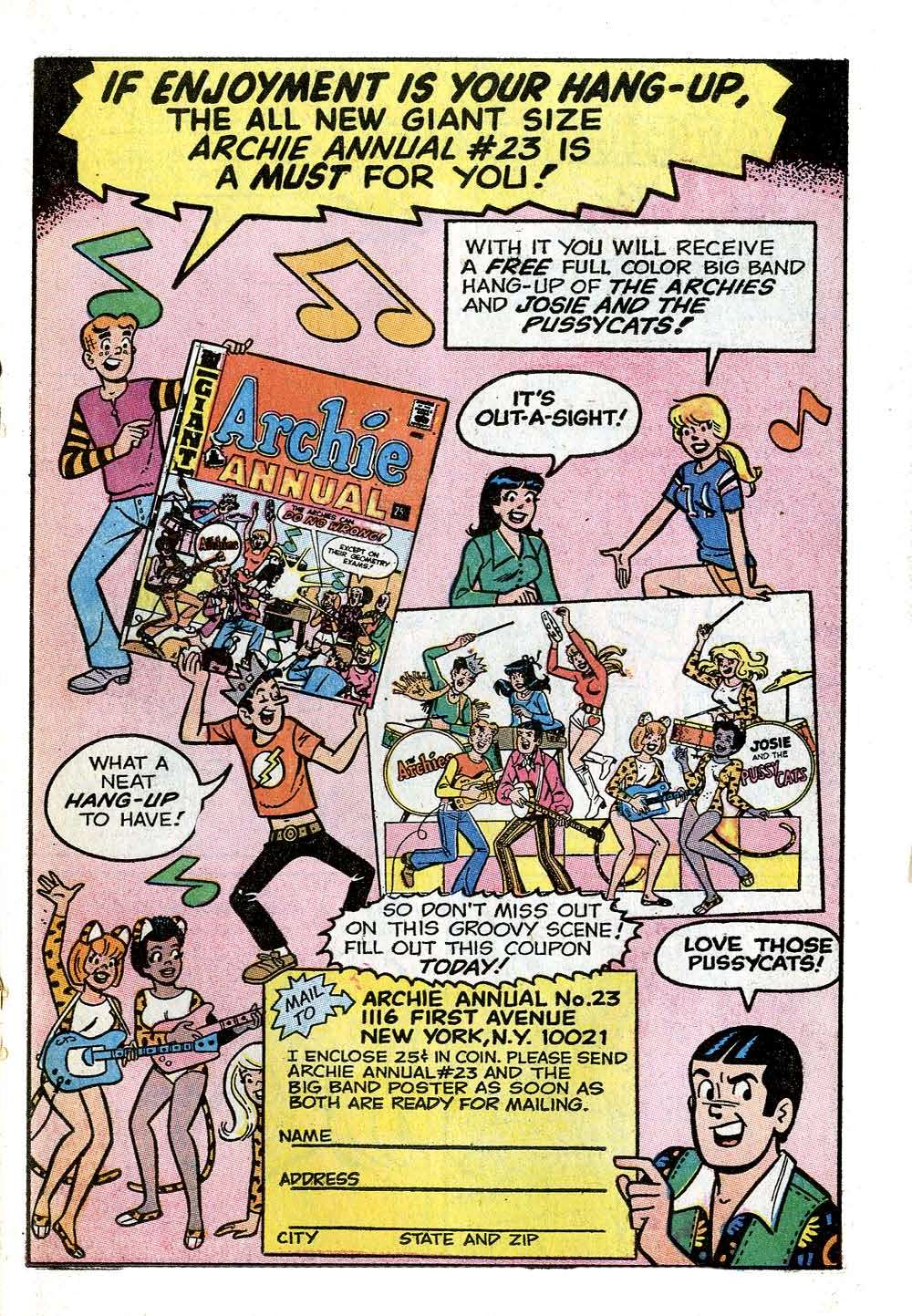 Read online Archie (1960) comic -  Issue #210 - 19