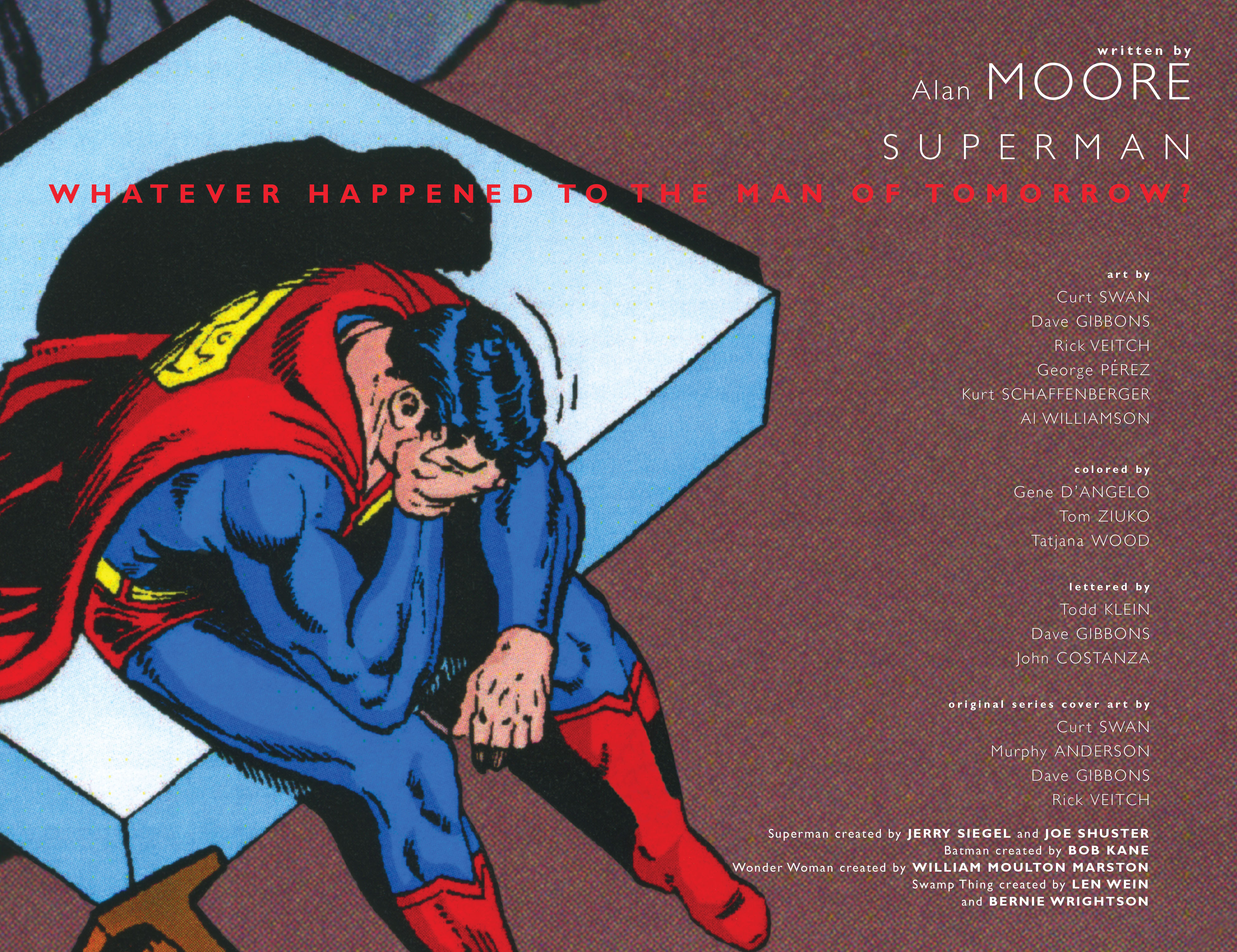 Read online Superman: Whatever Happened to the Man of Tomorrow? comic -  Issue # TPB - 3