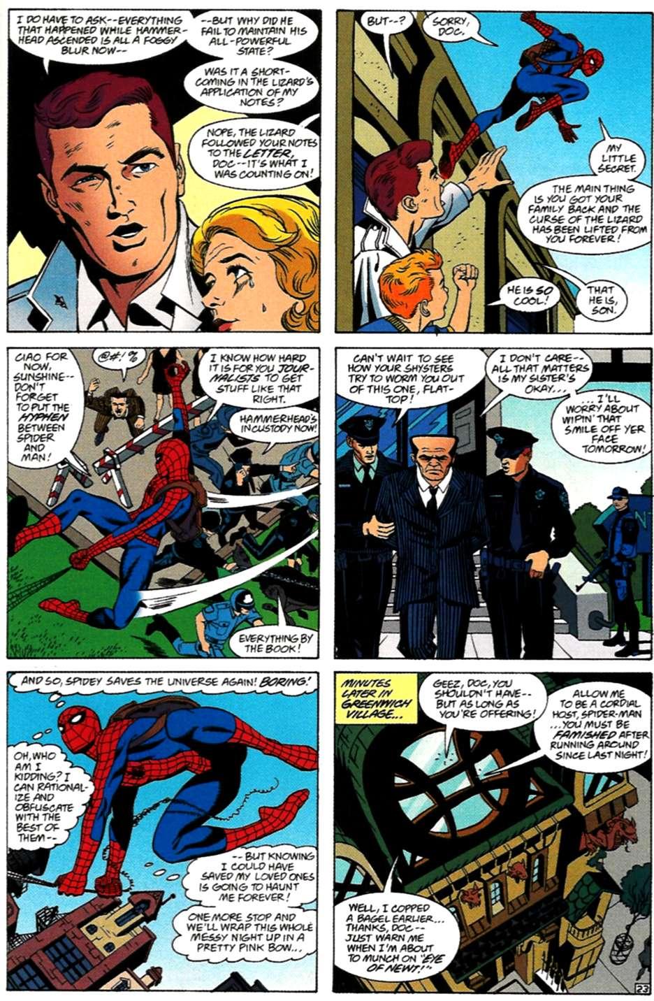 Read online Spider-Man: Lifeline comic -  Issue #3 - 23