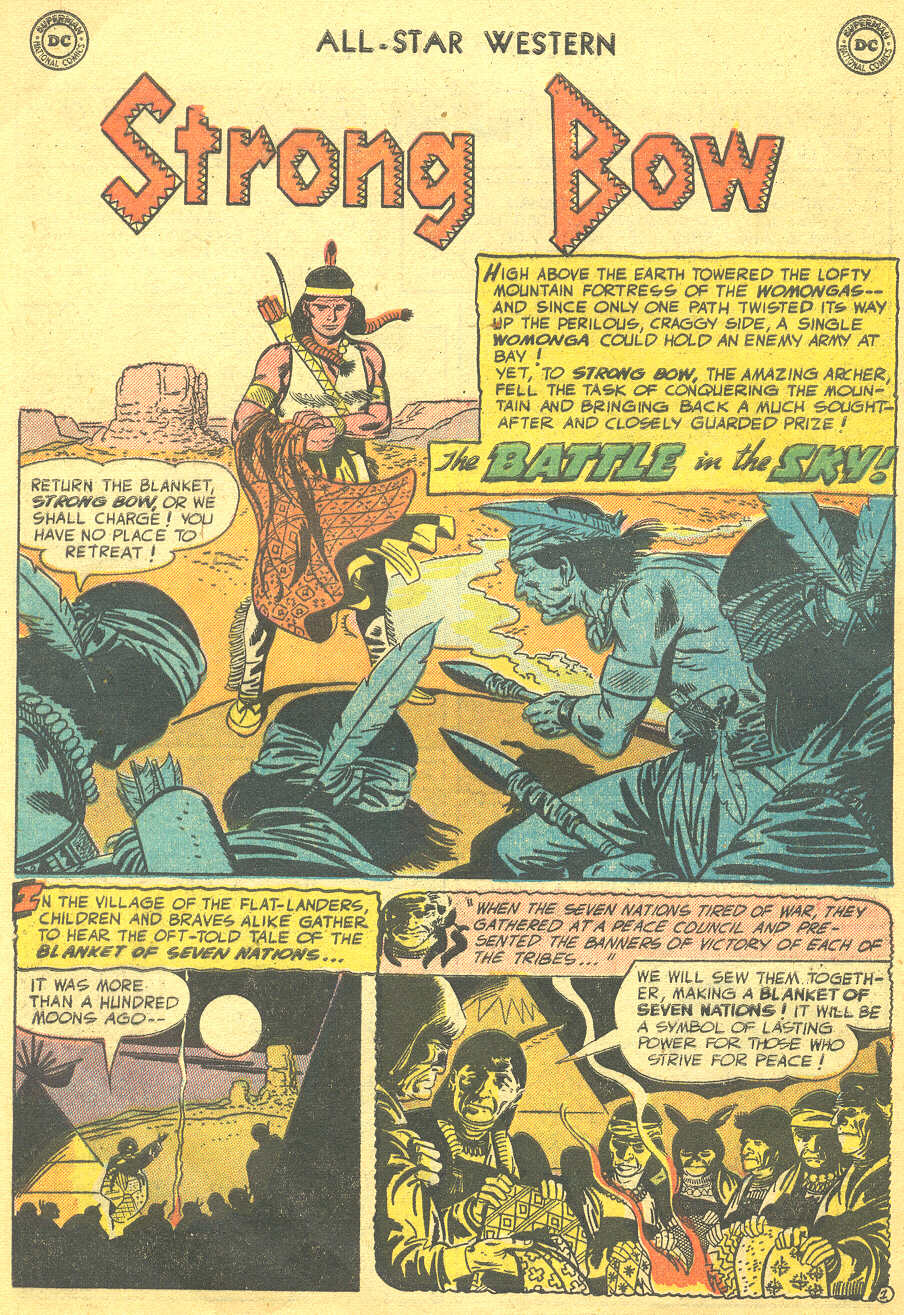 Read online All-Star Western (1951) comic -  Issue #88 - 28