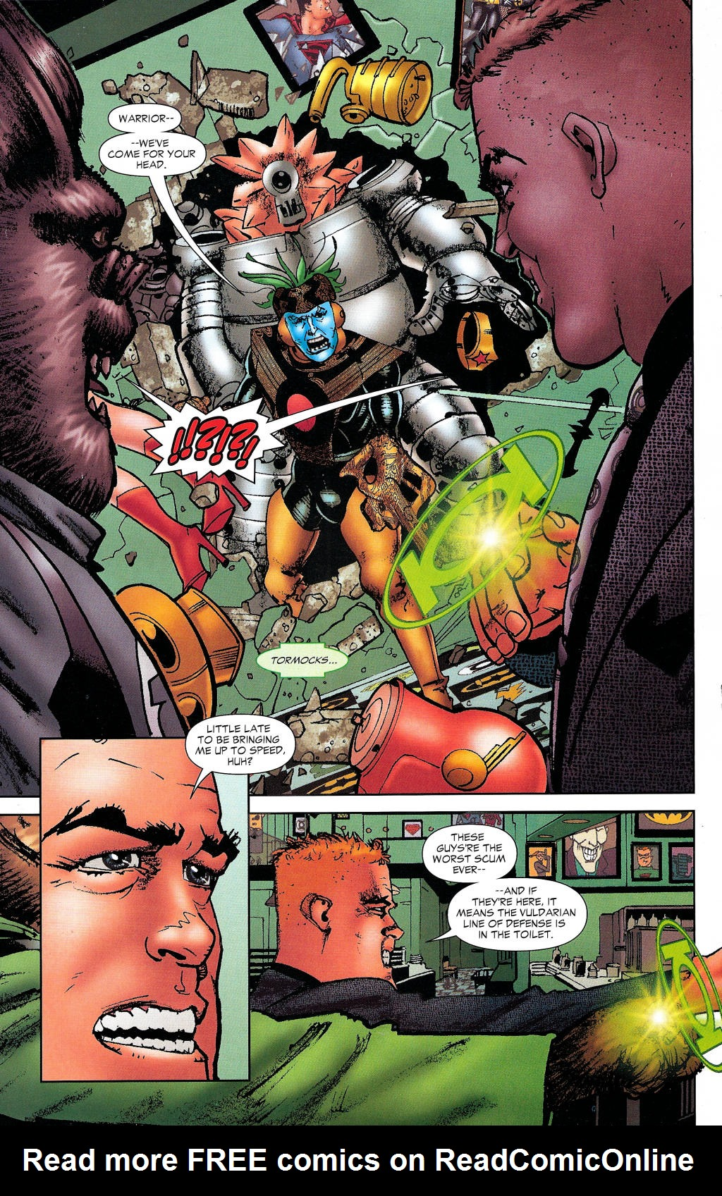 Read online Guy Gardner: Collateral Damage comic -  Issue #1 - 39