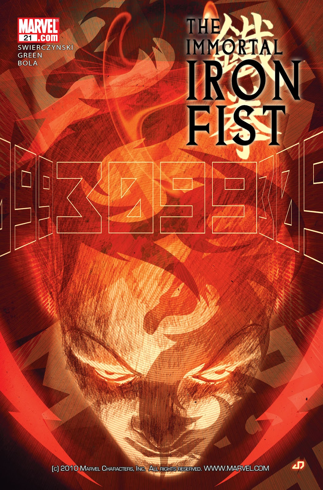The Immortal Iron Fist issue 21 - Page 1