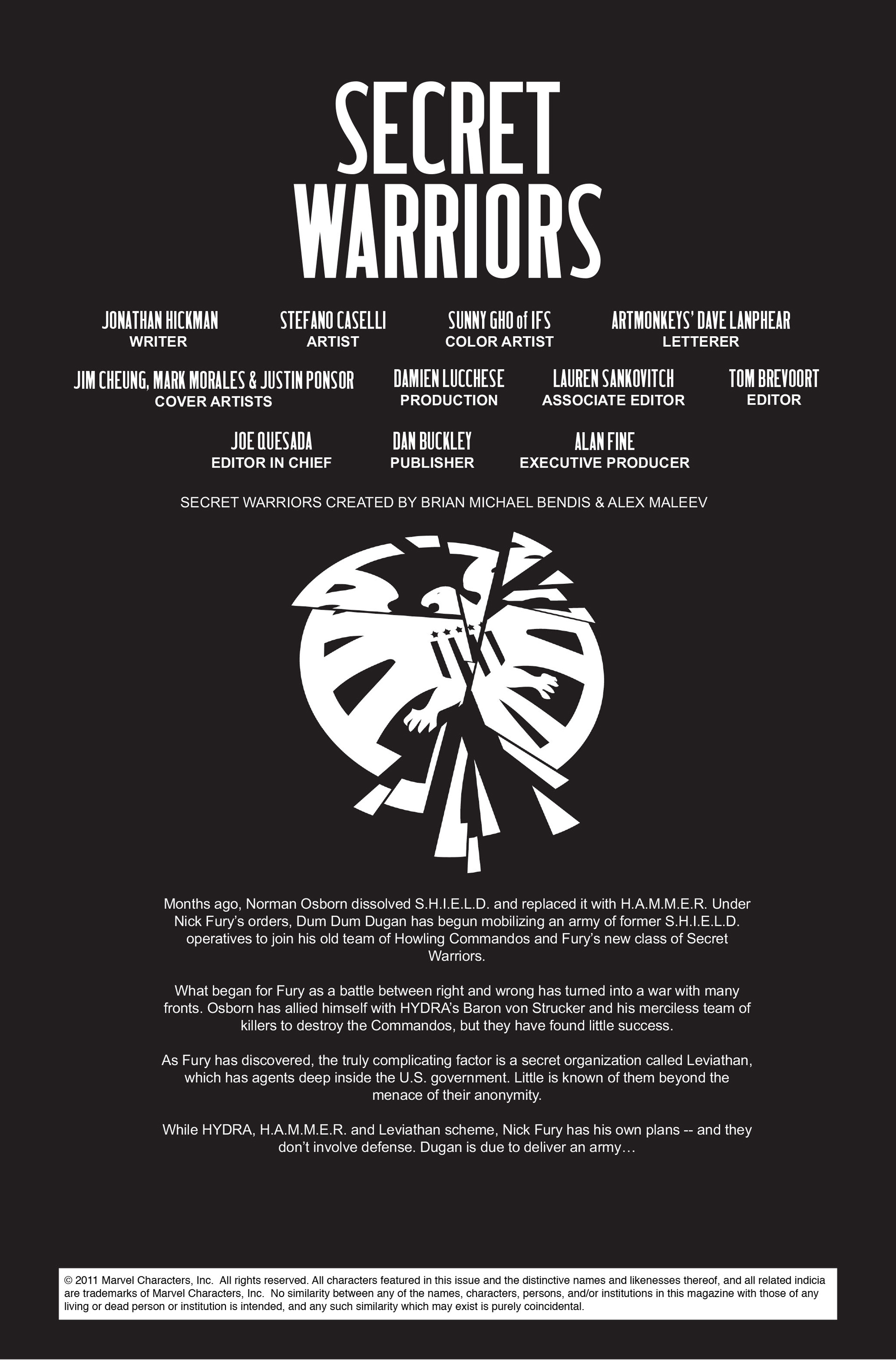 Read online Secret Warriors comic -  Issue #11 - 3