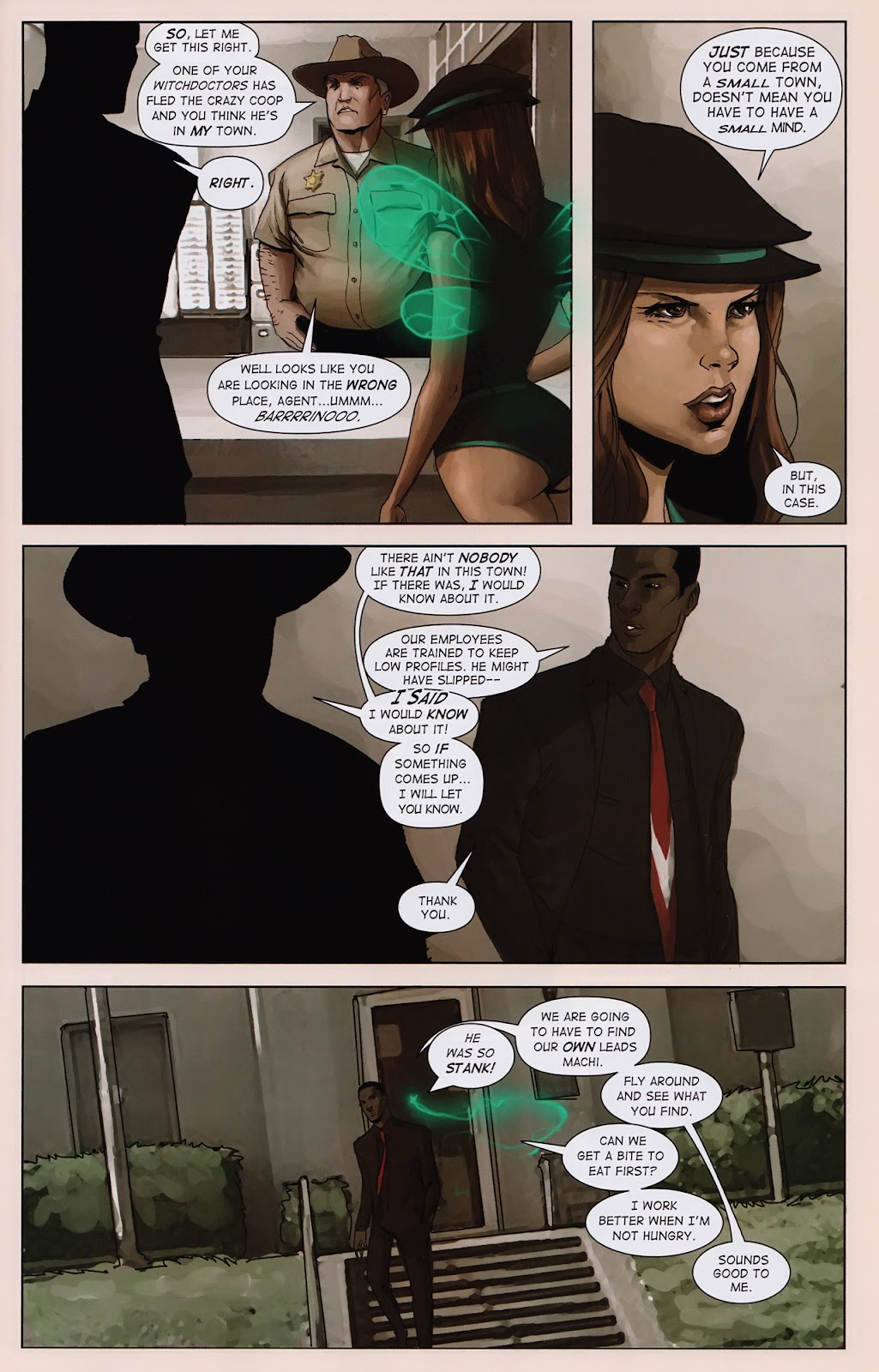 Read online Vescell comic -  Issue #2 - 7