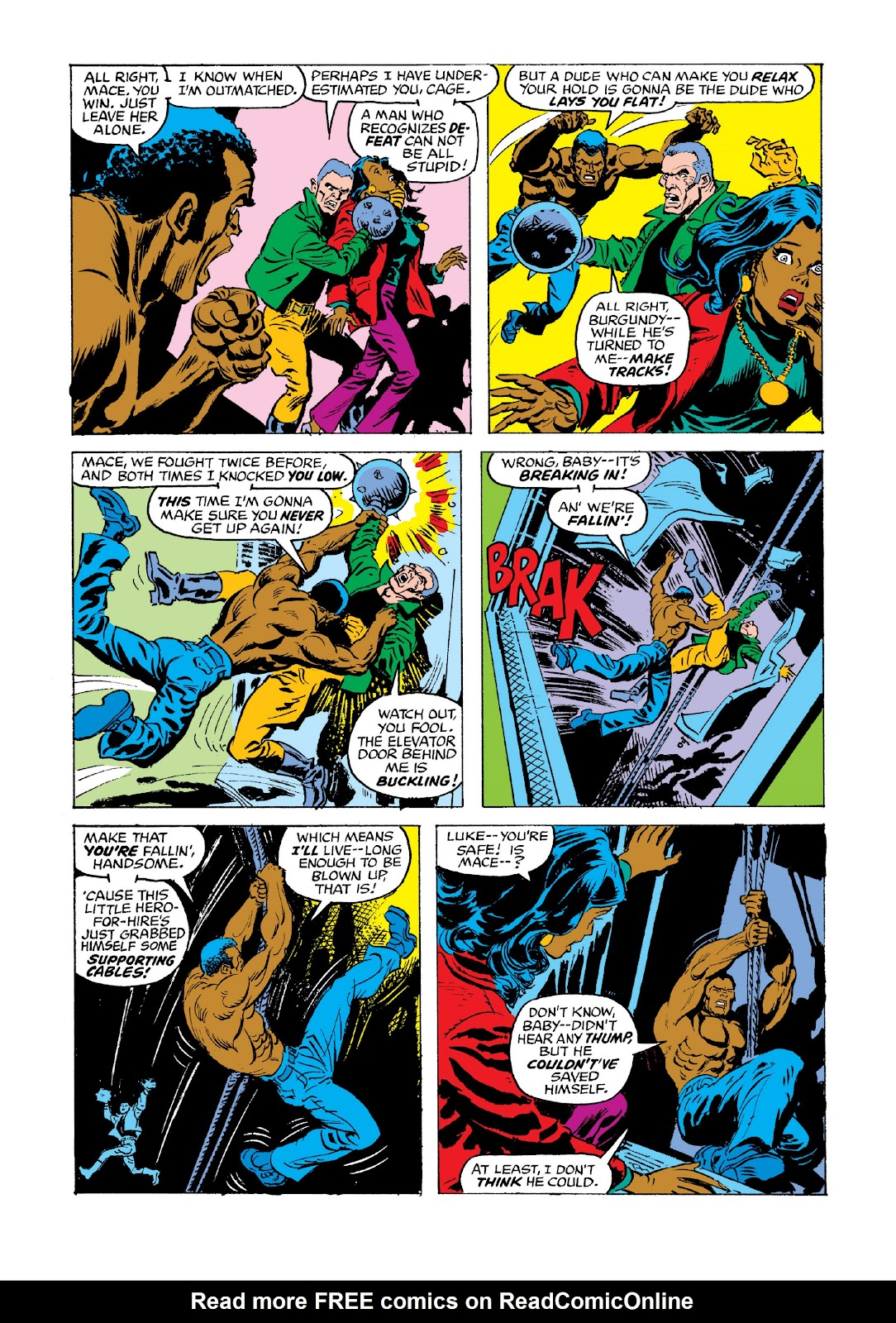 Read online Marvel Masterworks: Luke Cage, Power Man comic -  Issue # TPB 3 (Part 3) - 79