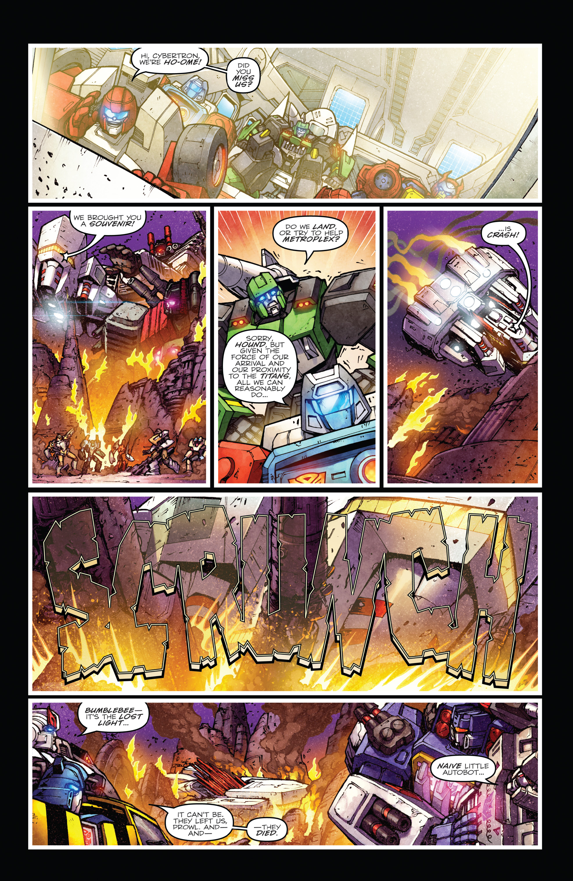 Read online The Transformers: Dark Cybertron Finale comic -  Issue # Full - 57