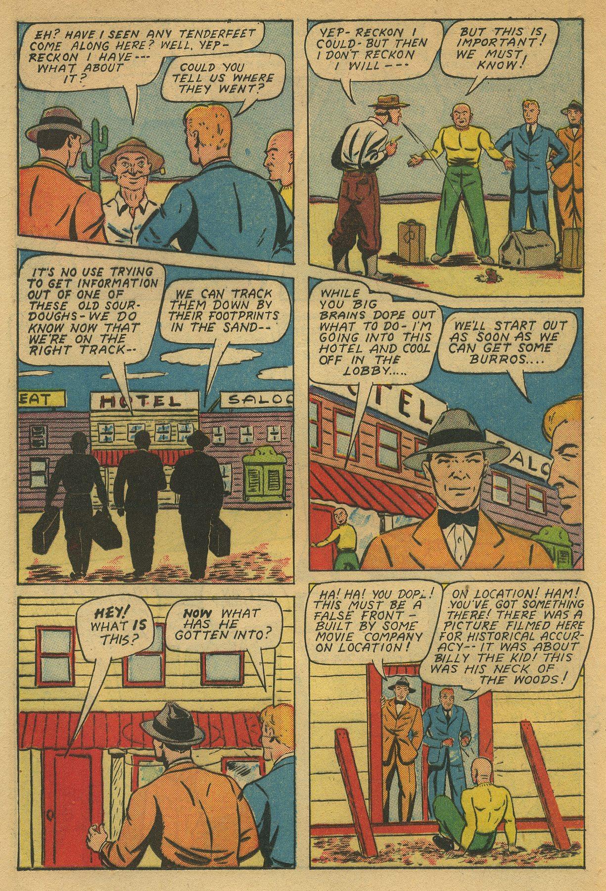 Read online Shadow Comics comic -  Issue #49 - 20