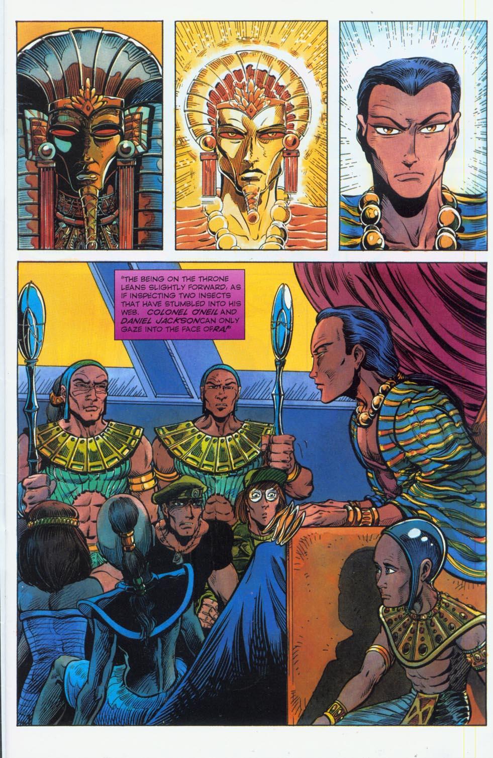 Read online Stargate comic -  Issue #3 - 3