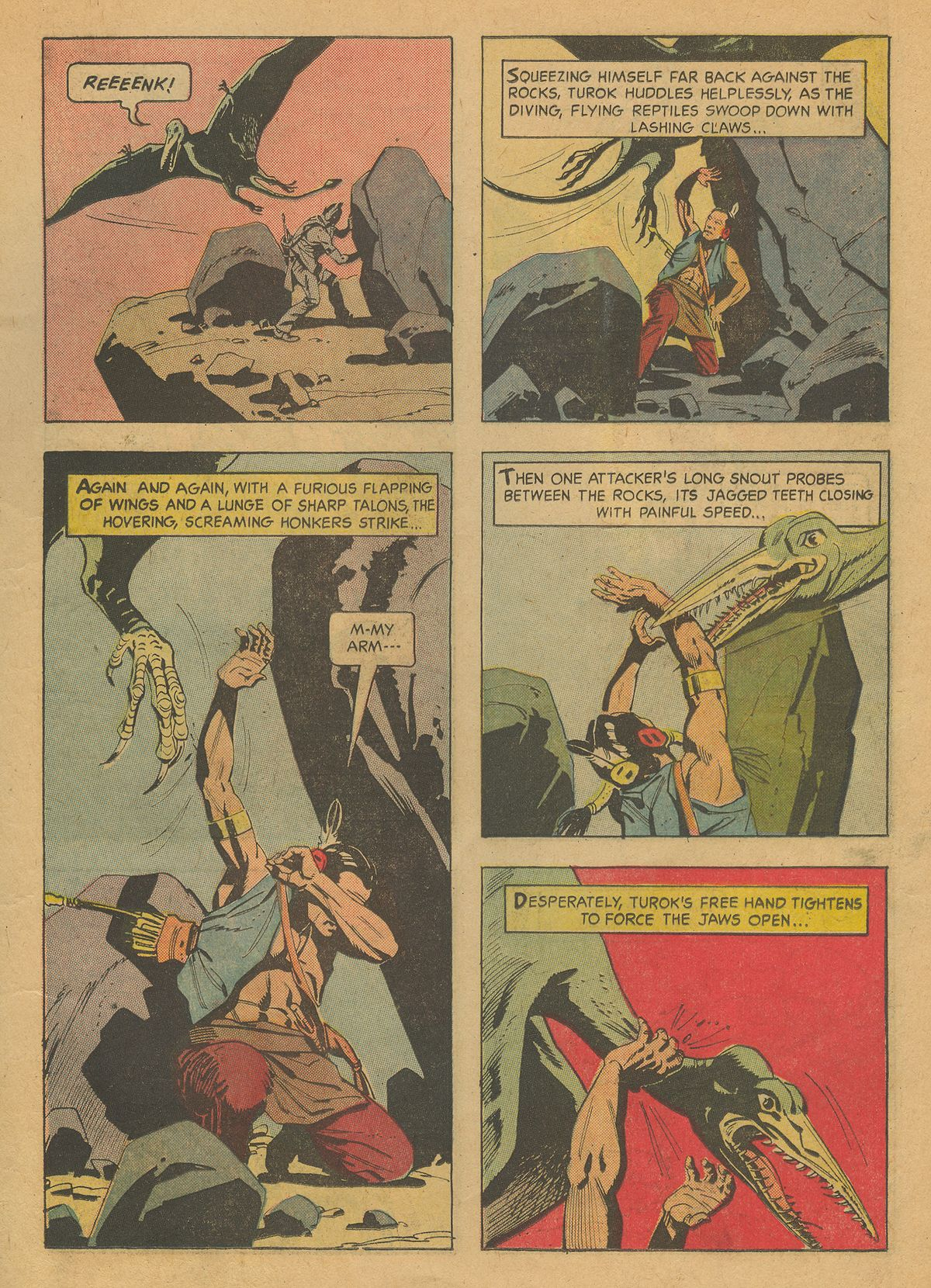 Read online Turok, Son of Stone comic -  Issue #37 - 11