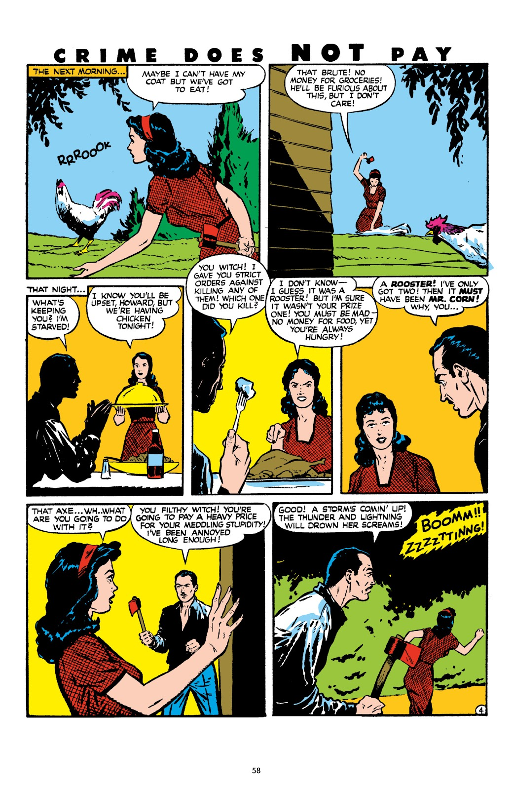 Read online Crime Does Not Pay Archives comic -  Issue # TPB 8 (Part 1) - 59