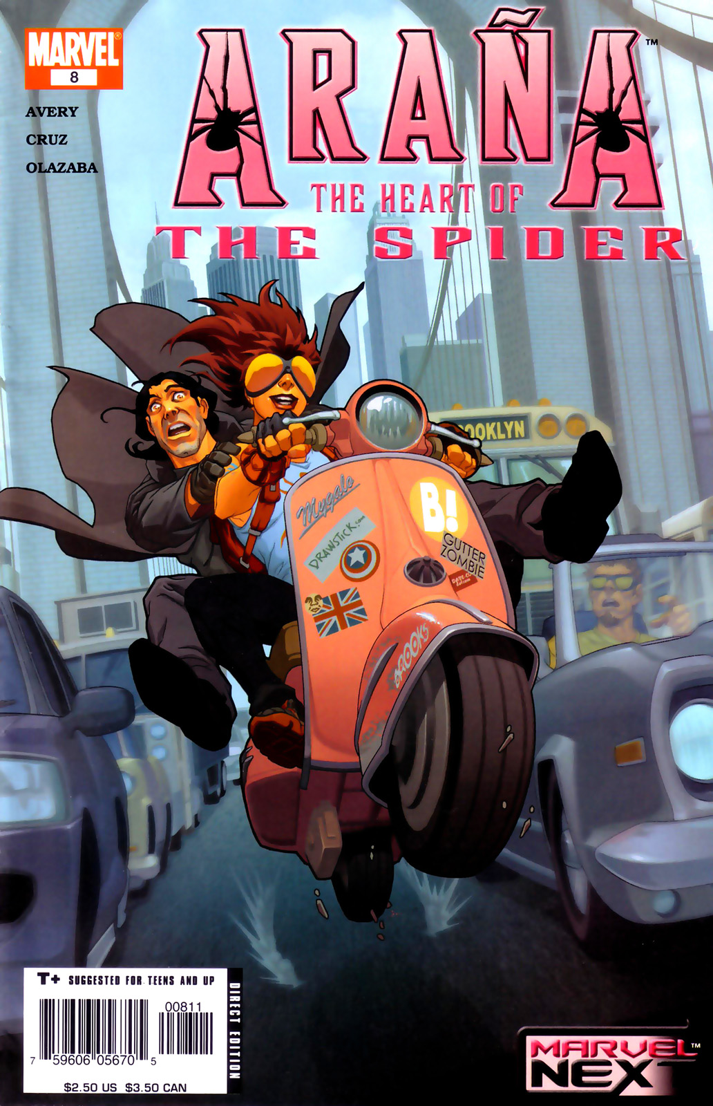 Read online Araña: Heart of the Spider comic -  Issue #8 - 1