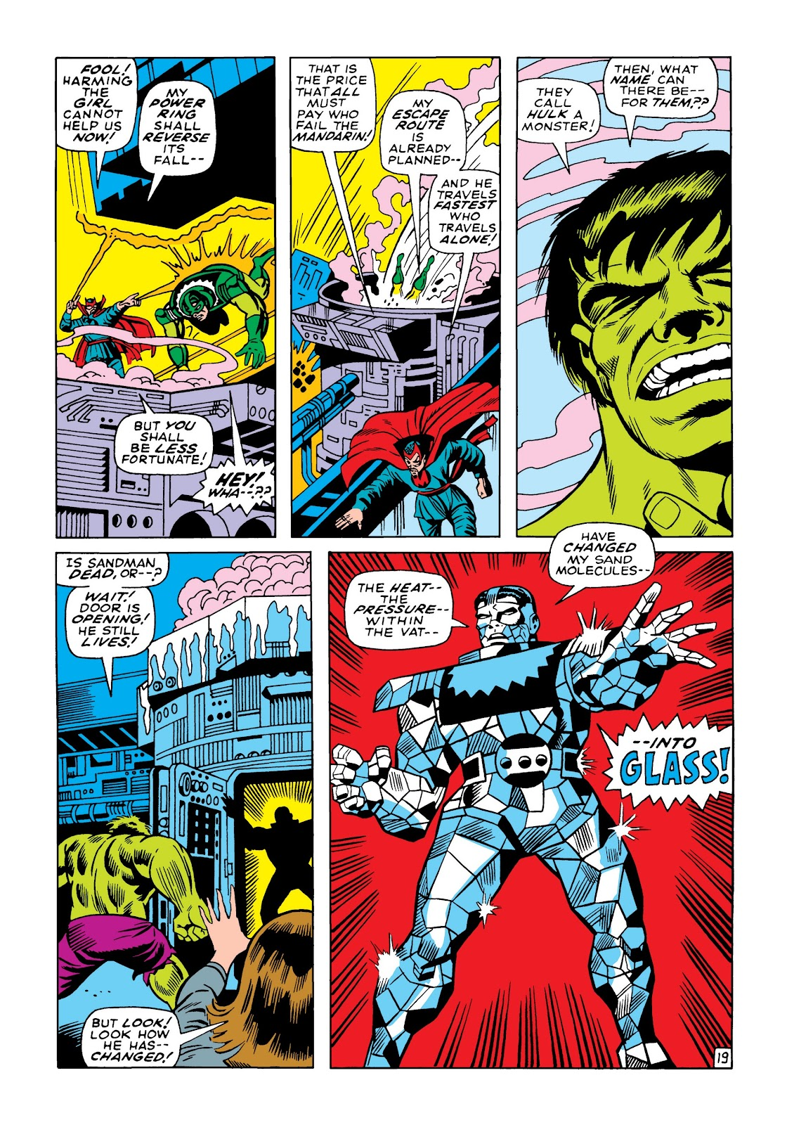 Read online Marvel Masterworks: The Incredible Hulk comic -  Issue # TPB 5 (Part 1) - 88