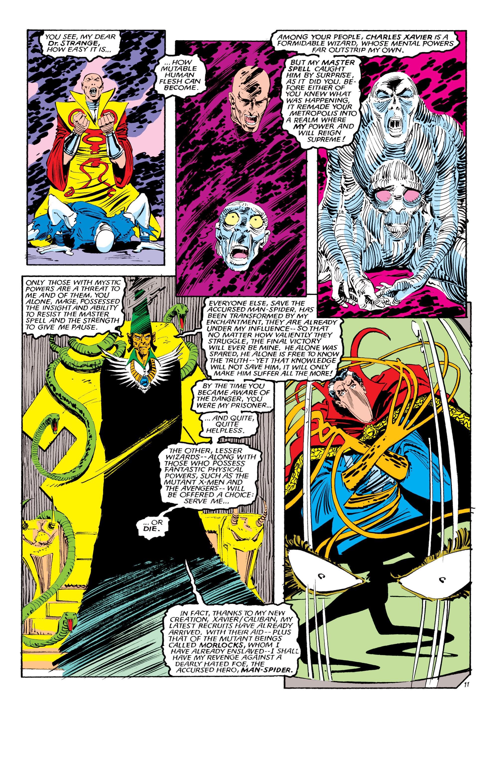 Read online Uncanny X-Men (1963) comic -  Issue #190 - 11