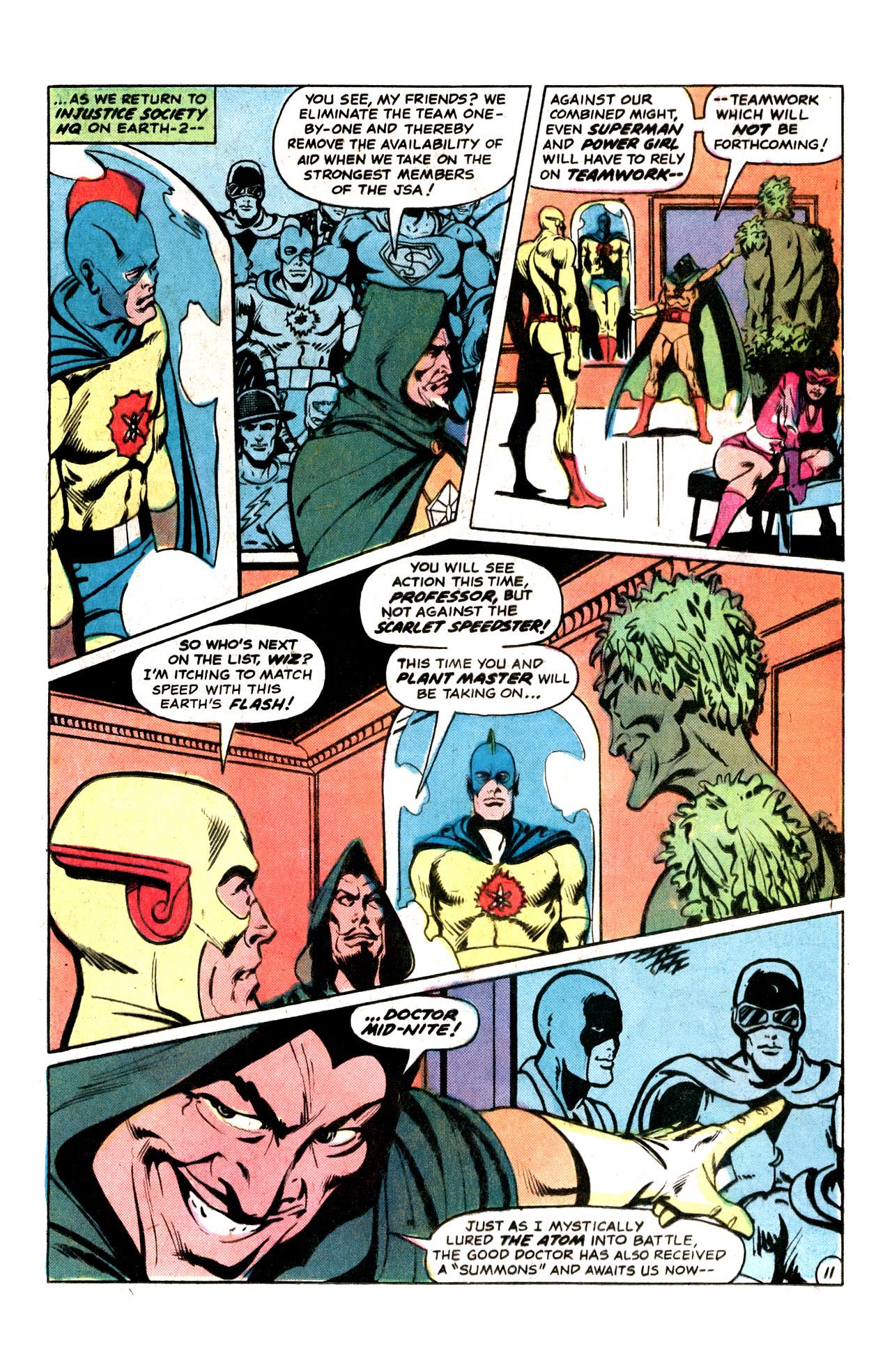 Read online Secret Society of Super-Villains comic -  Issue #15 - 21