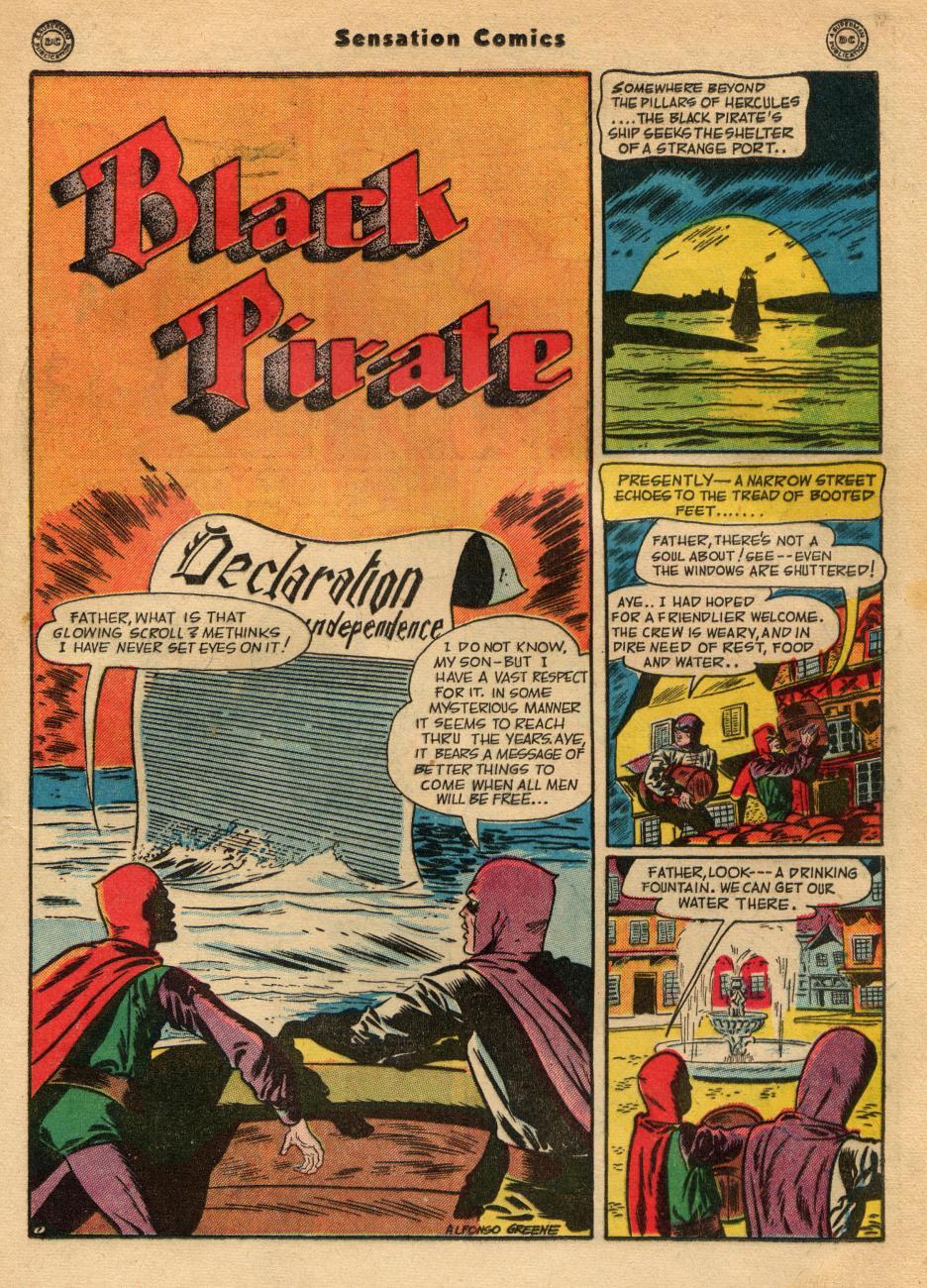 Read online Sensation (Mystery) Comics comic -  Issue #49 - 31