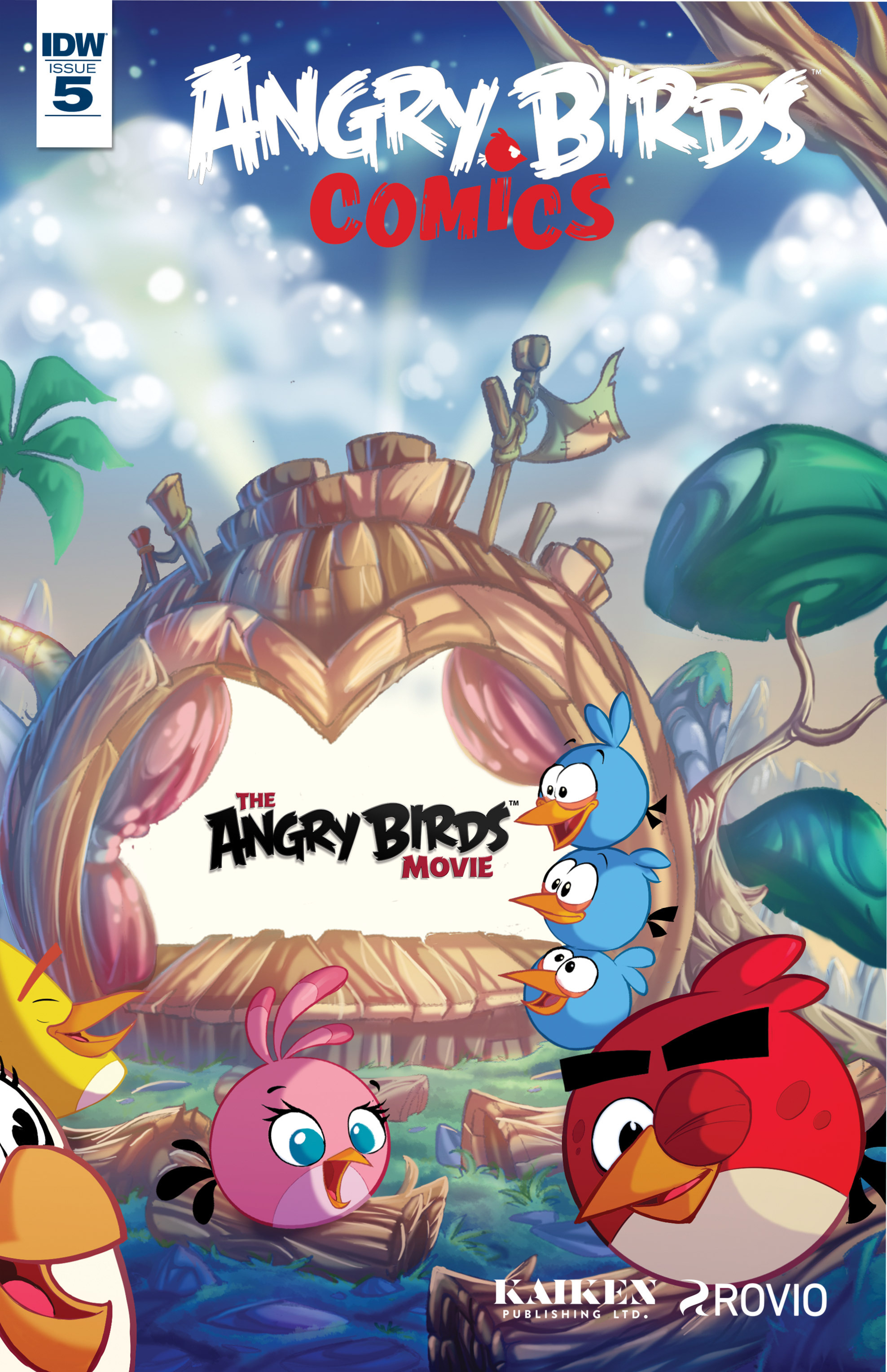 Read online Angry Birds Comics (2016) comic -  Issue #5 - 1