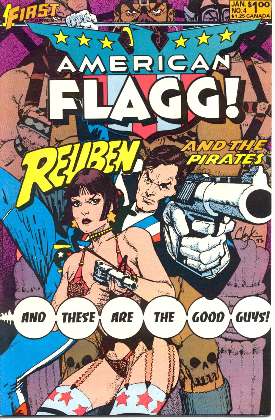 Read online American Flagg! comic -  Issue #4 - 1