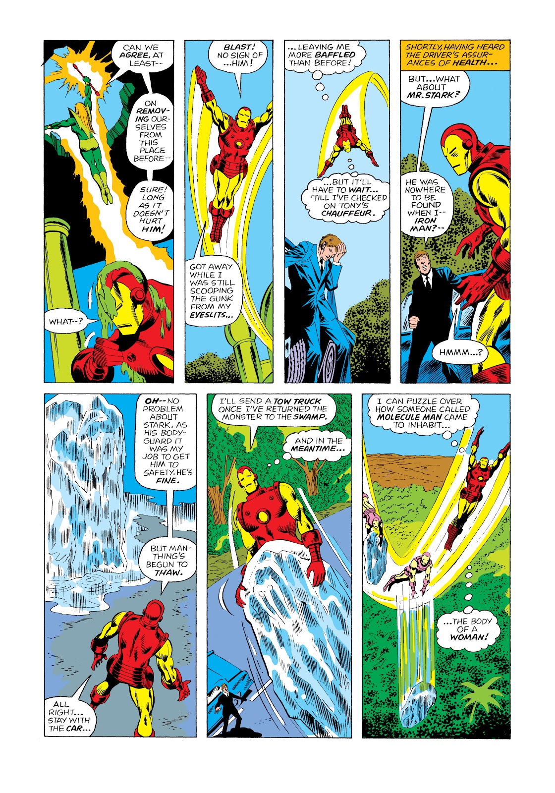 Read online Marvel Masterworks: The Invincible Iron Man comic -  Issue # TPB 11 (Part 2) - 46