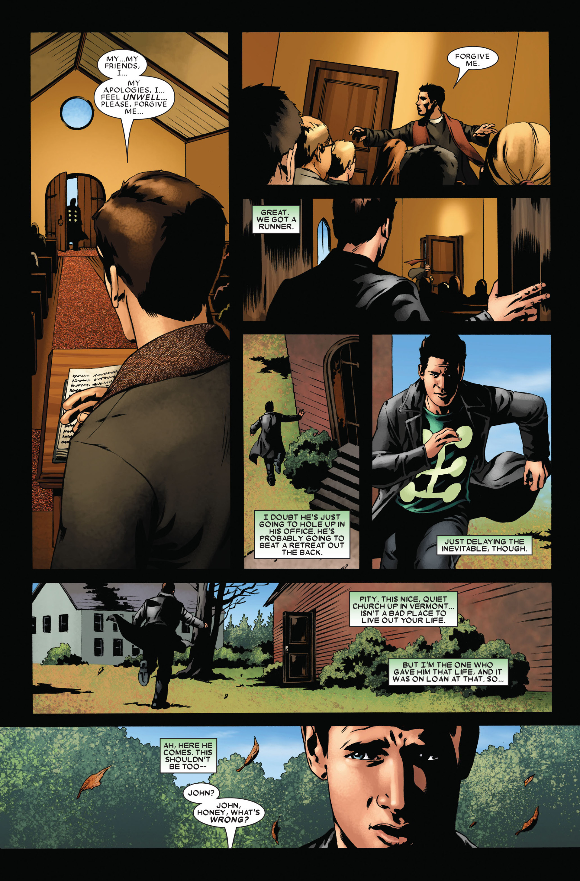 Read online X-Factor (2006) comic -  Issue #16 - 6
