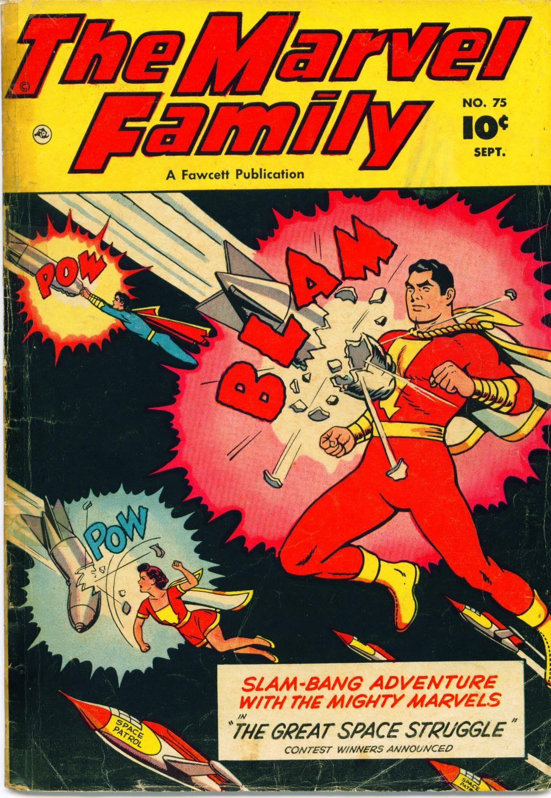 The Marvel Family 75 Page 1