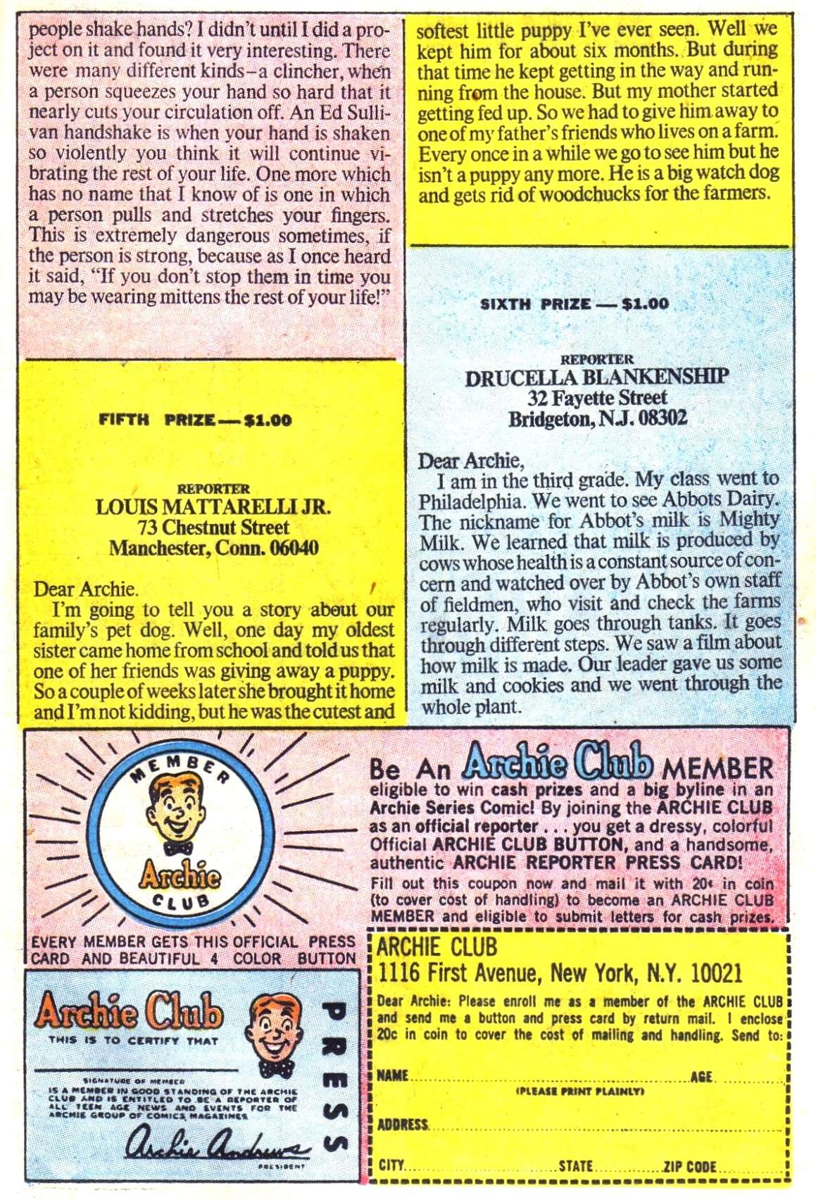 Read online Archie (1960) comic -  Issue #187 - 11