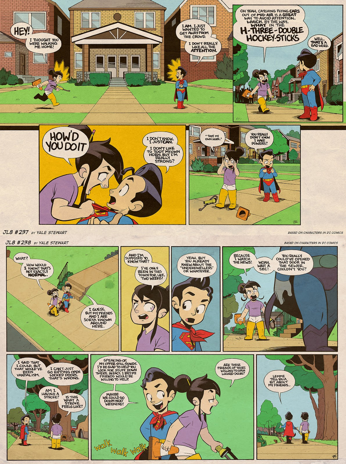 Read online JL8 – The Complete Collection comic -  Issue # TPB (Part 2) - 59