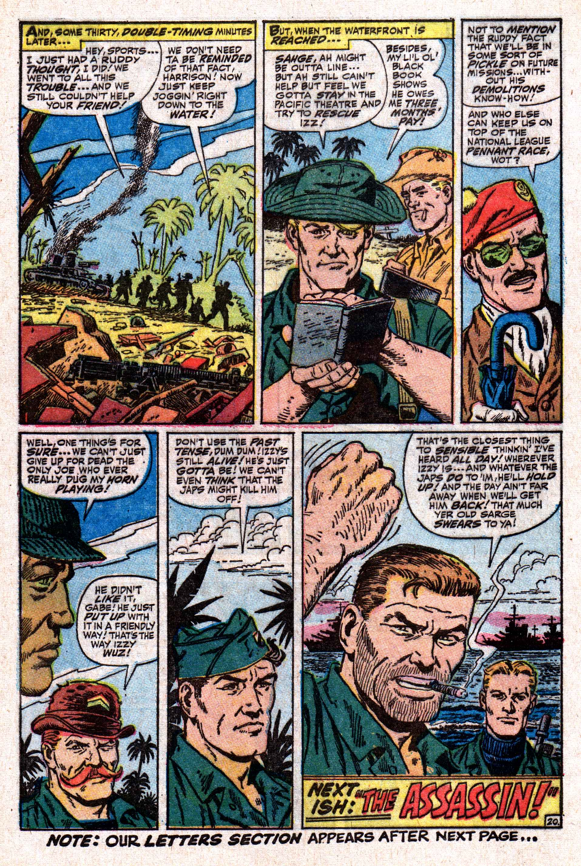 Read online Sgt. Fury comic -  Issue #50 - 28