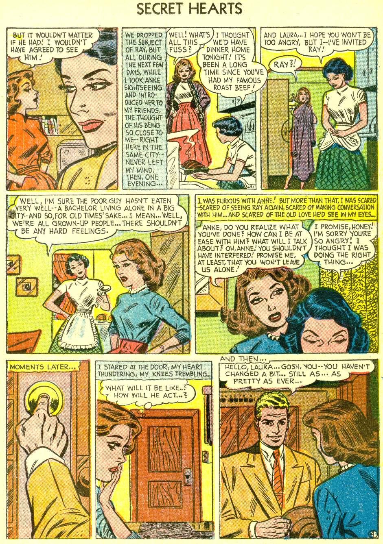 Read online Secret Hearts comic -  Issue #21 - 21