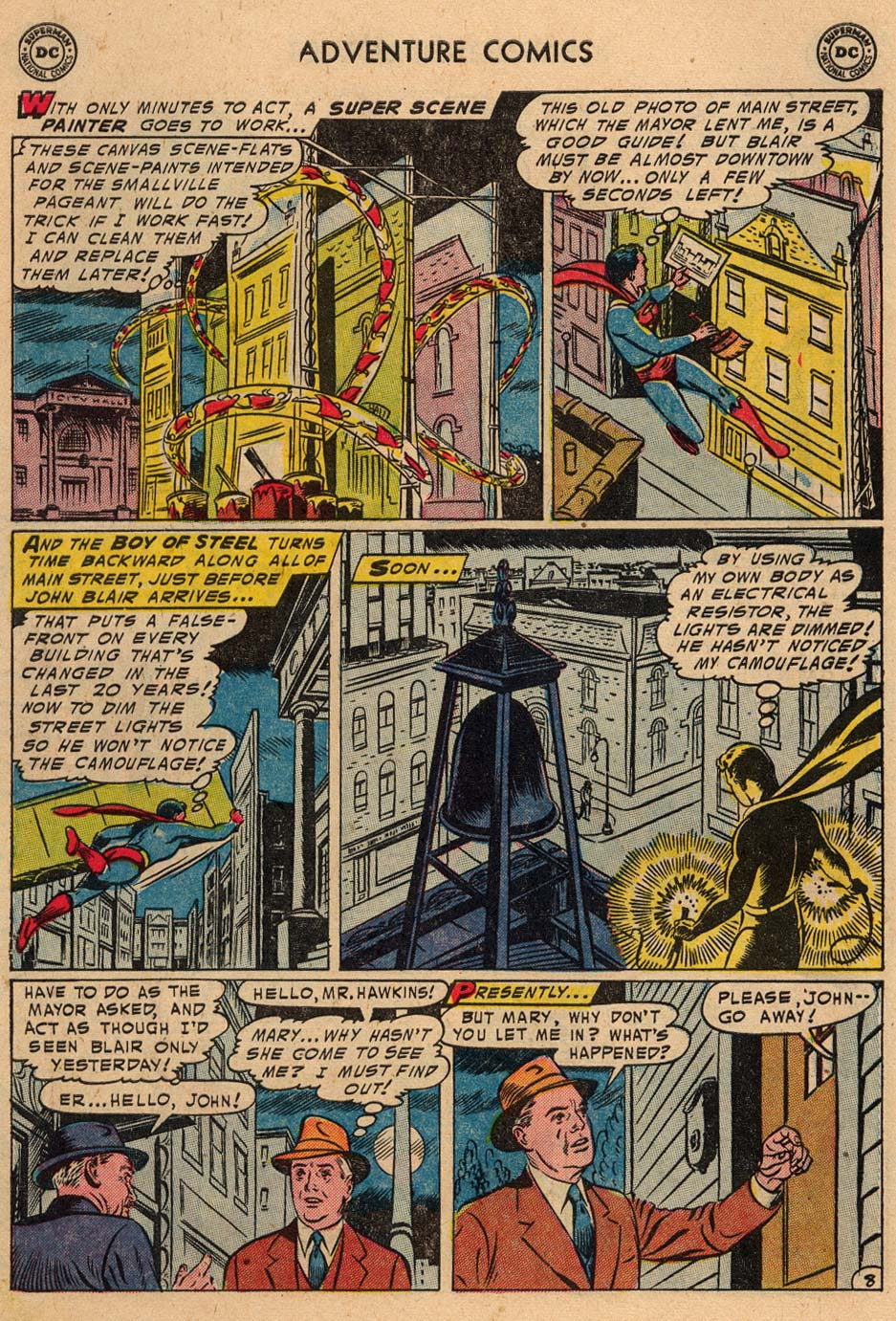 Read online Adventure Comics (1938) comic -  Issue #208 - 10
