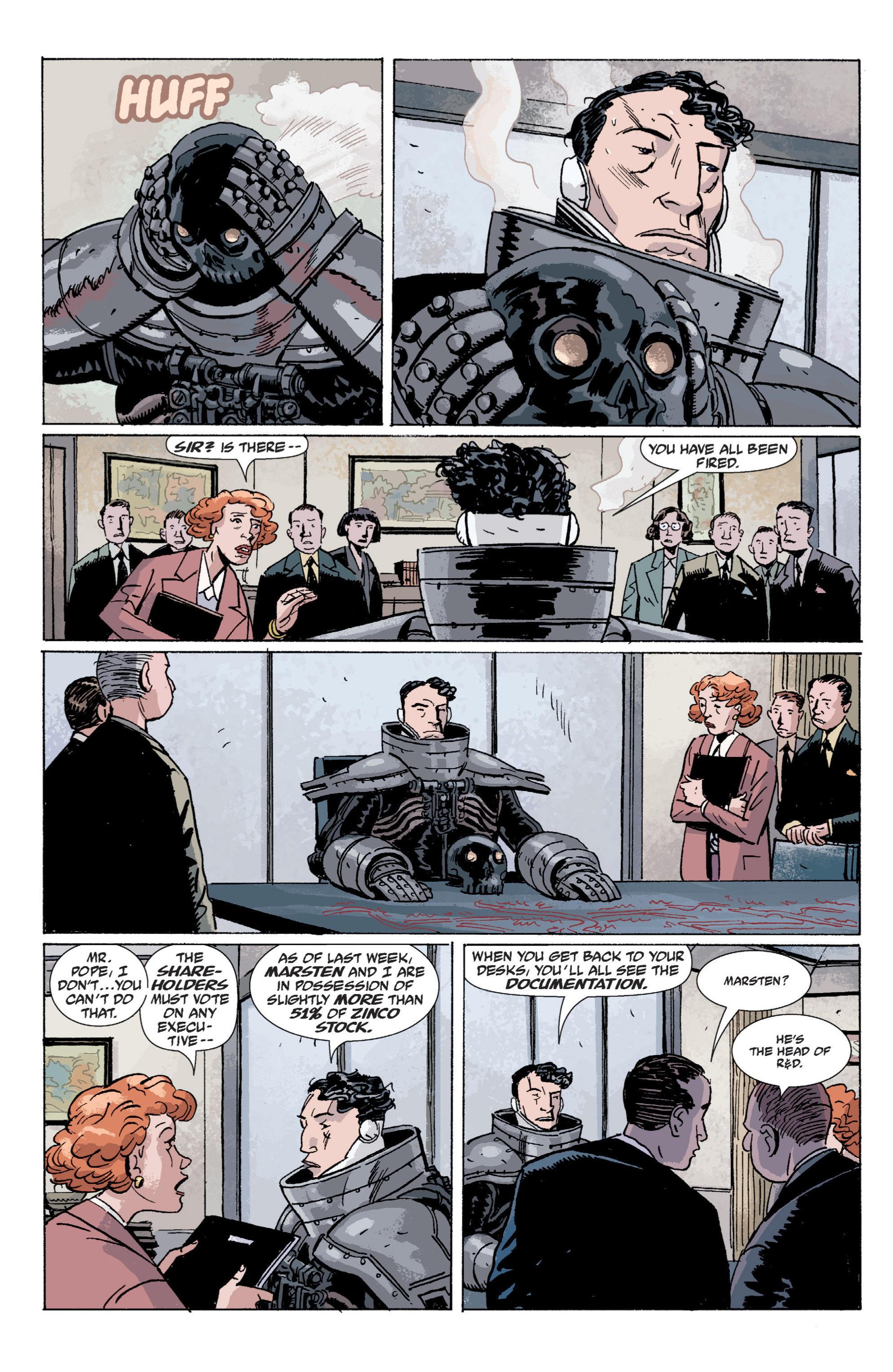 Read online B.P.R.D. (2003) comic -  Issue # TPB 5 - 65
