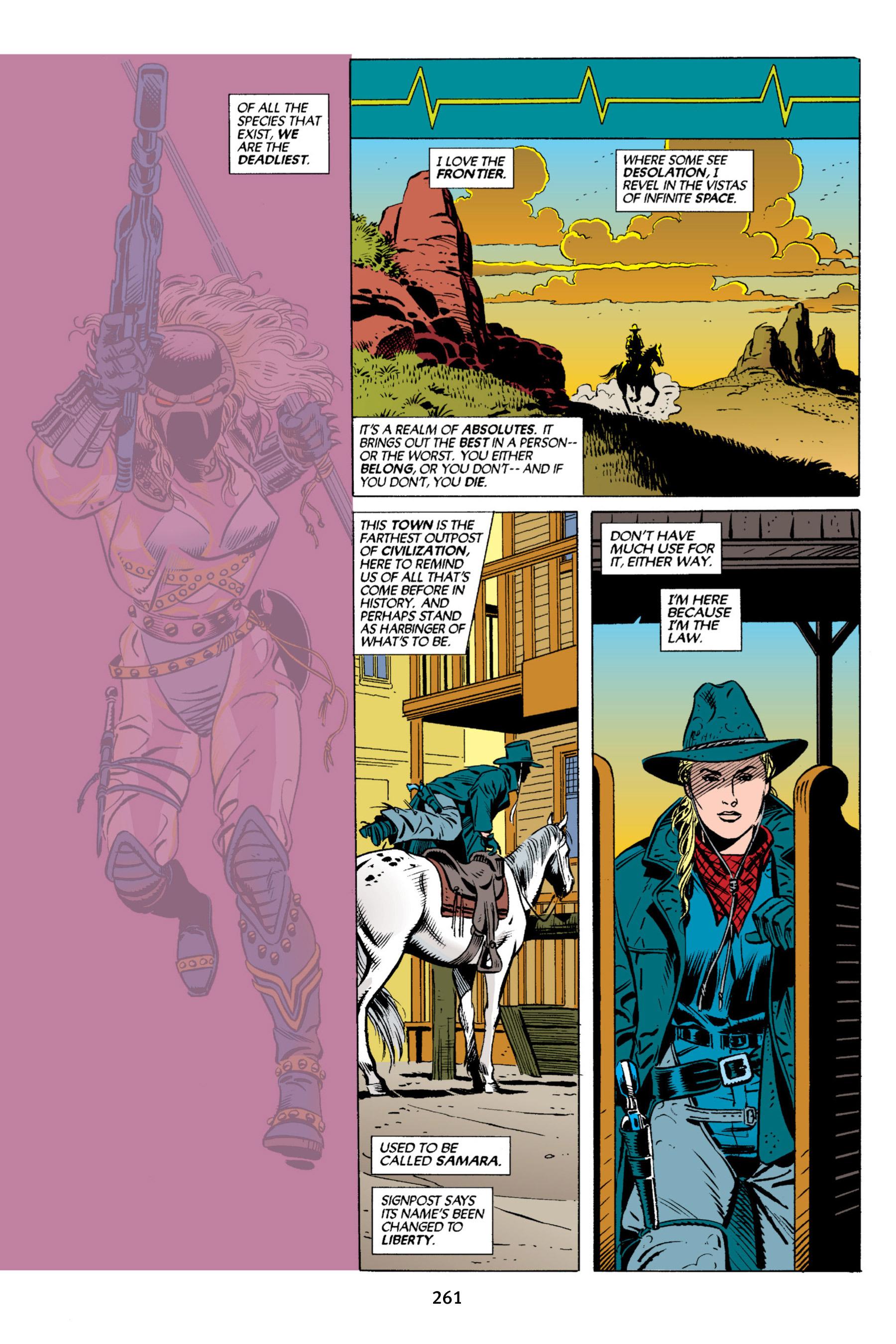 Read online Aliens vs. Predator Omnibus comic -  Issue # _TPB 2 Part 3 - 36