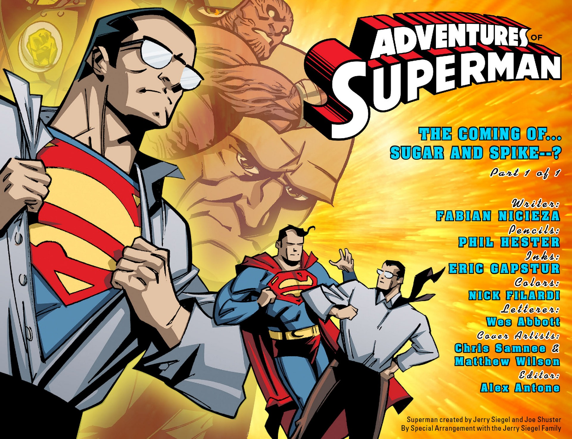 Read online Adventures of Superman [I] comic -  Issue #42 - 2