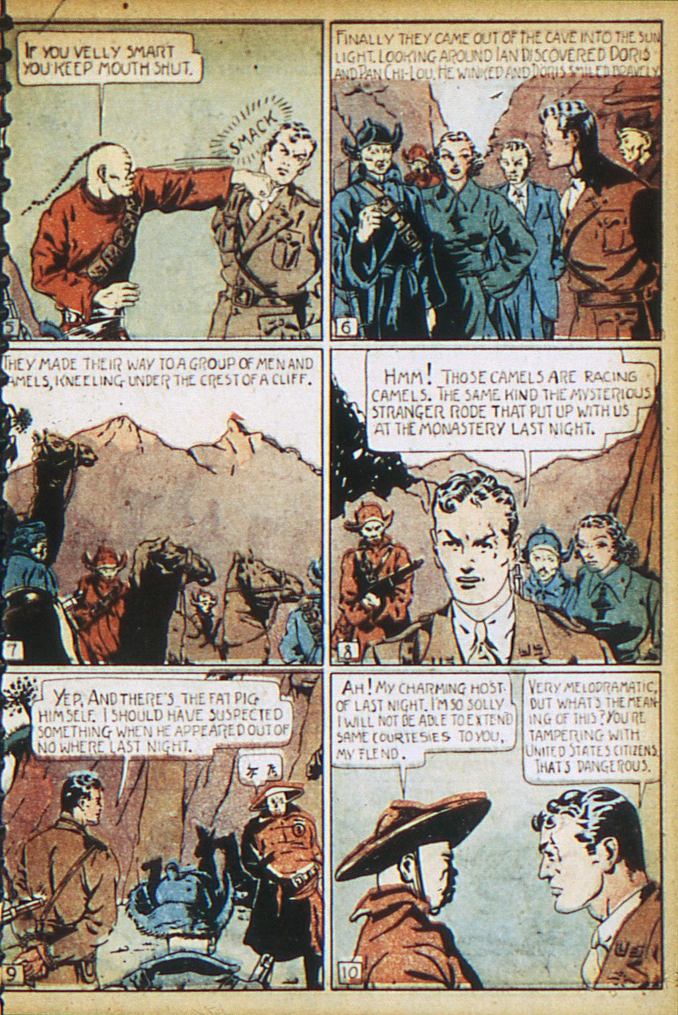 Read online Adventure Comics (1938) comic -  Issue #17 - 14