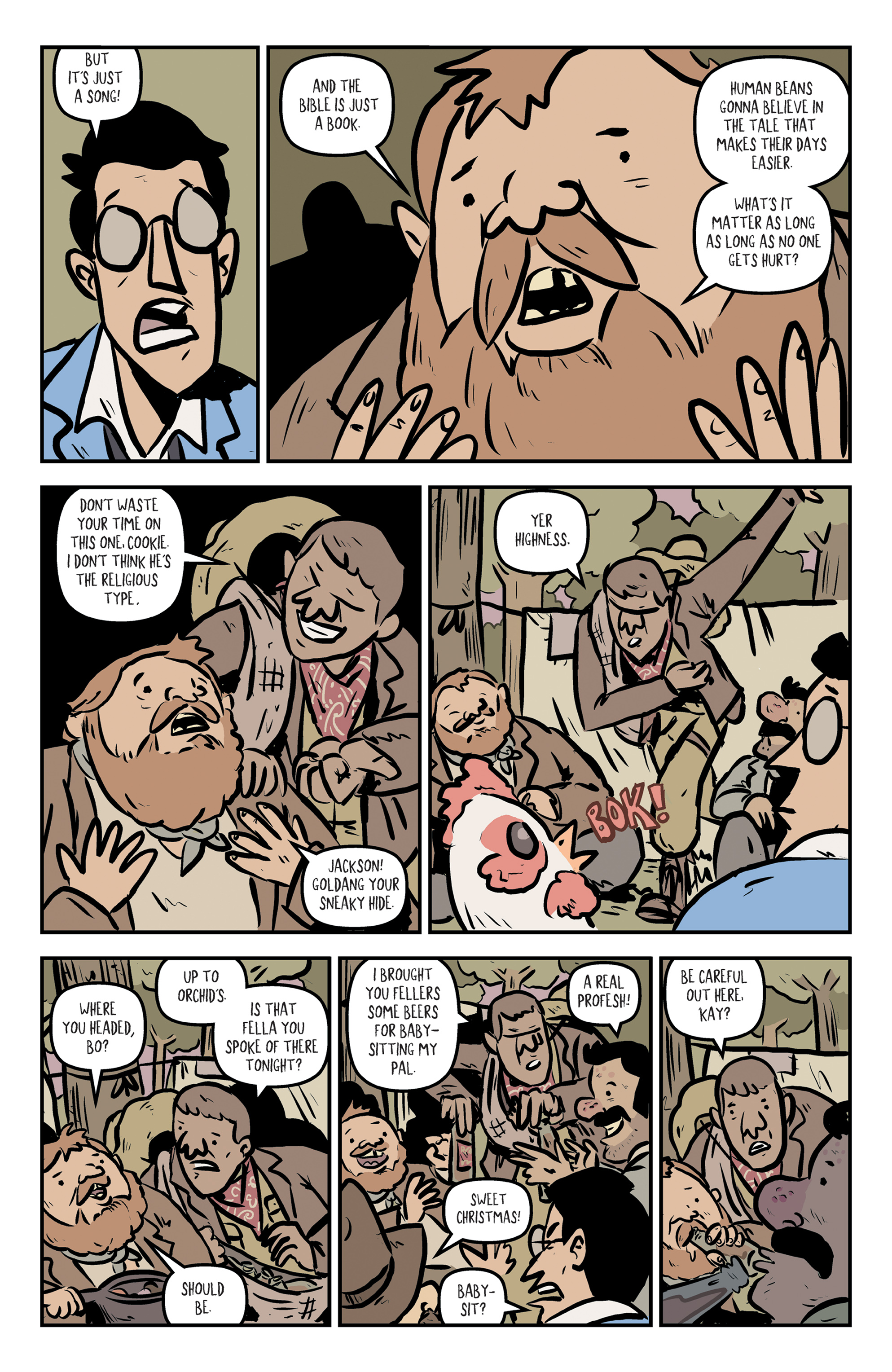 Read online Rock Candy Mountain comic -  Issue #2 - 9