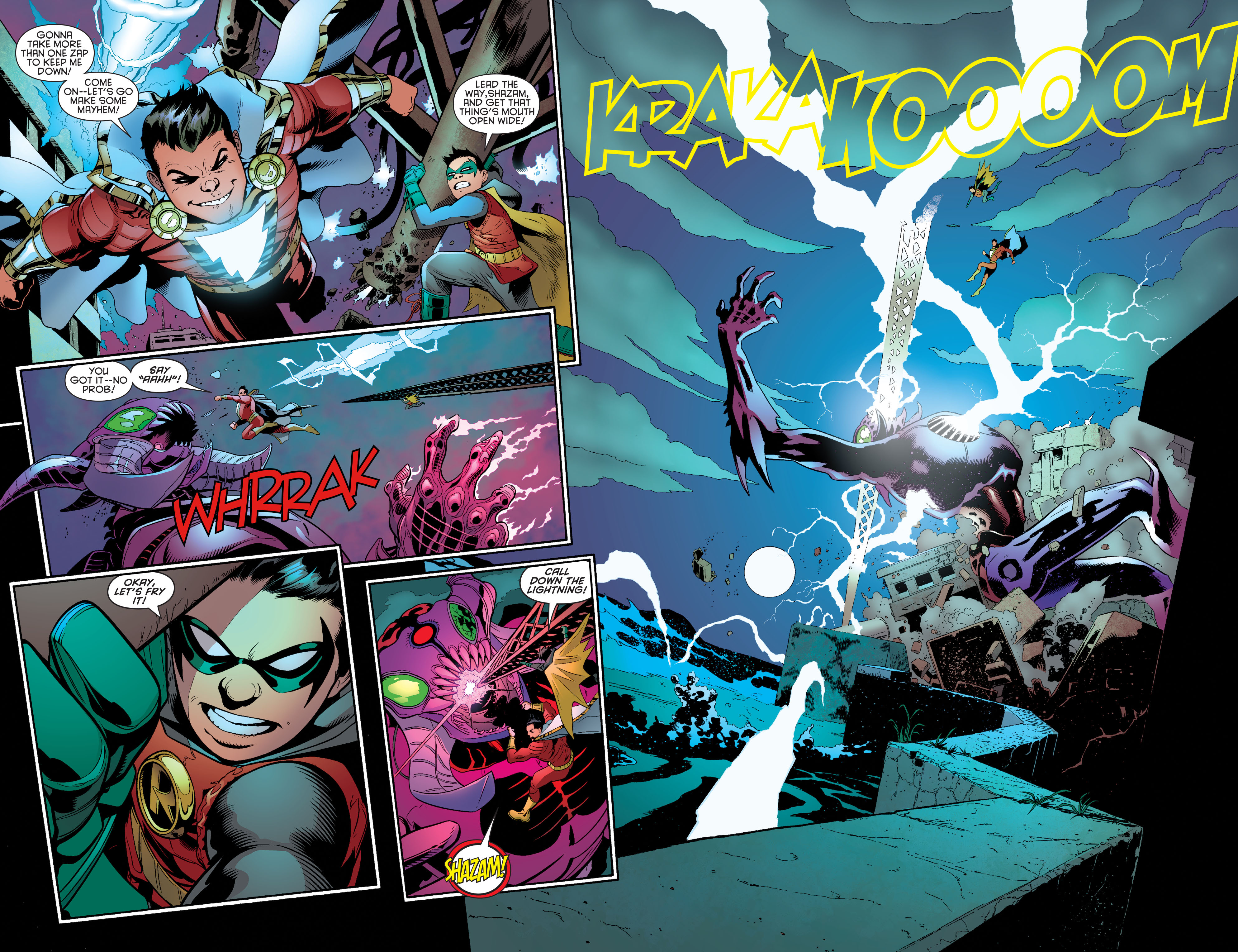 Read online Batman and Robin (2011) comic -  Issue #40 - 5