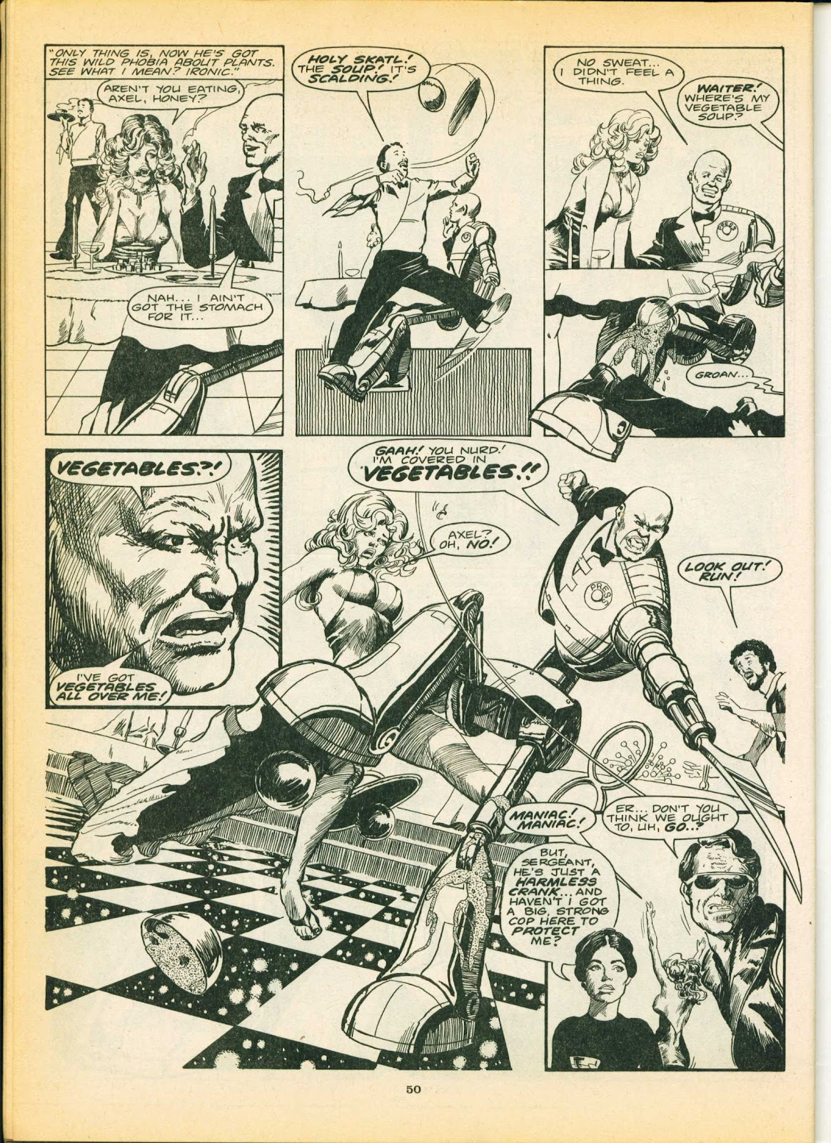 Warrior Issue #4 #5 - English 50