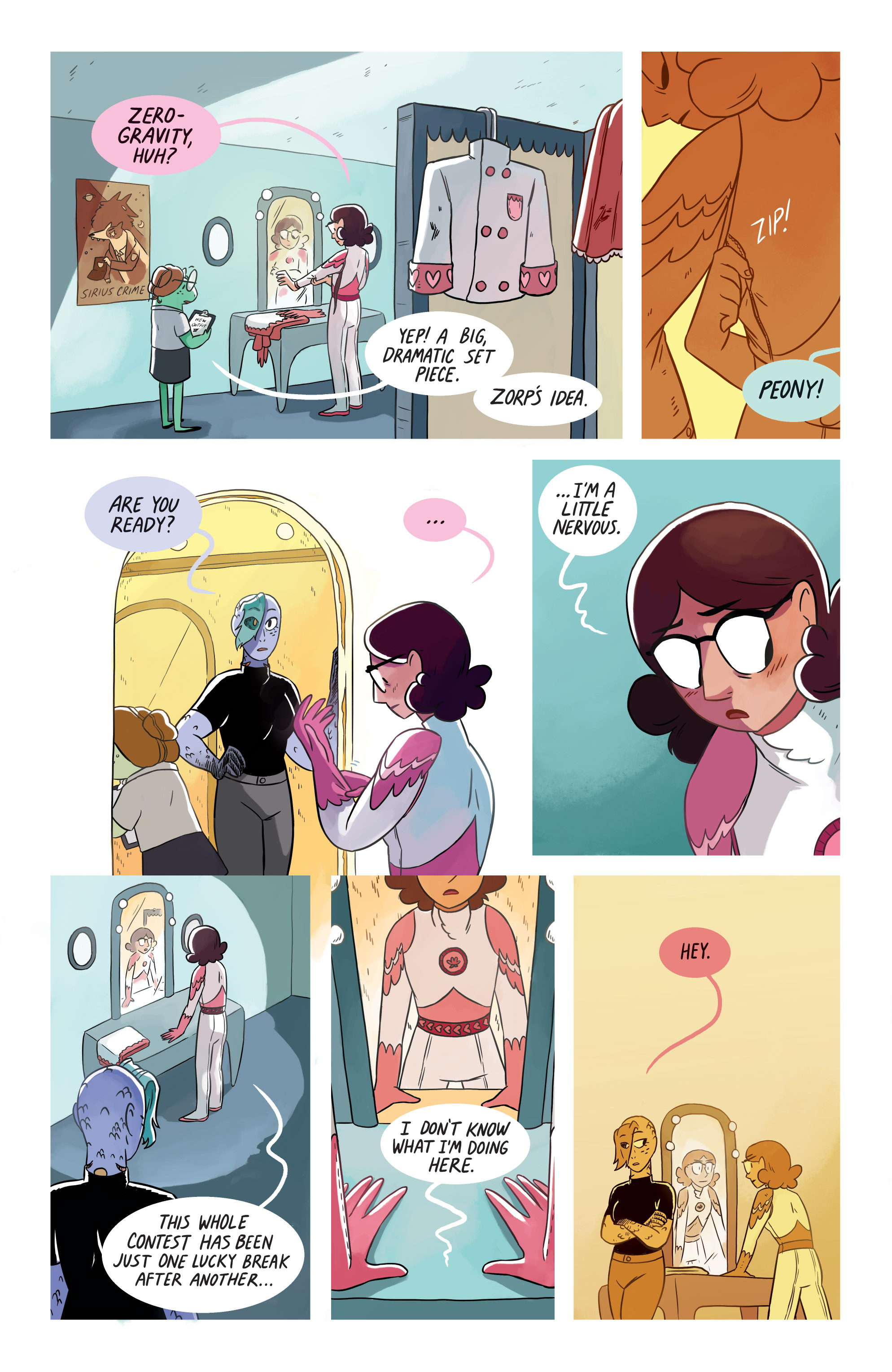Read online Space Battle Lunchtime comic -  Issue #8 - 4
