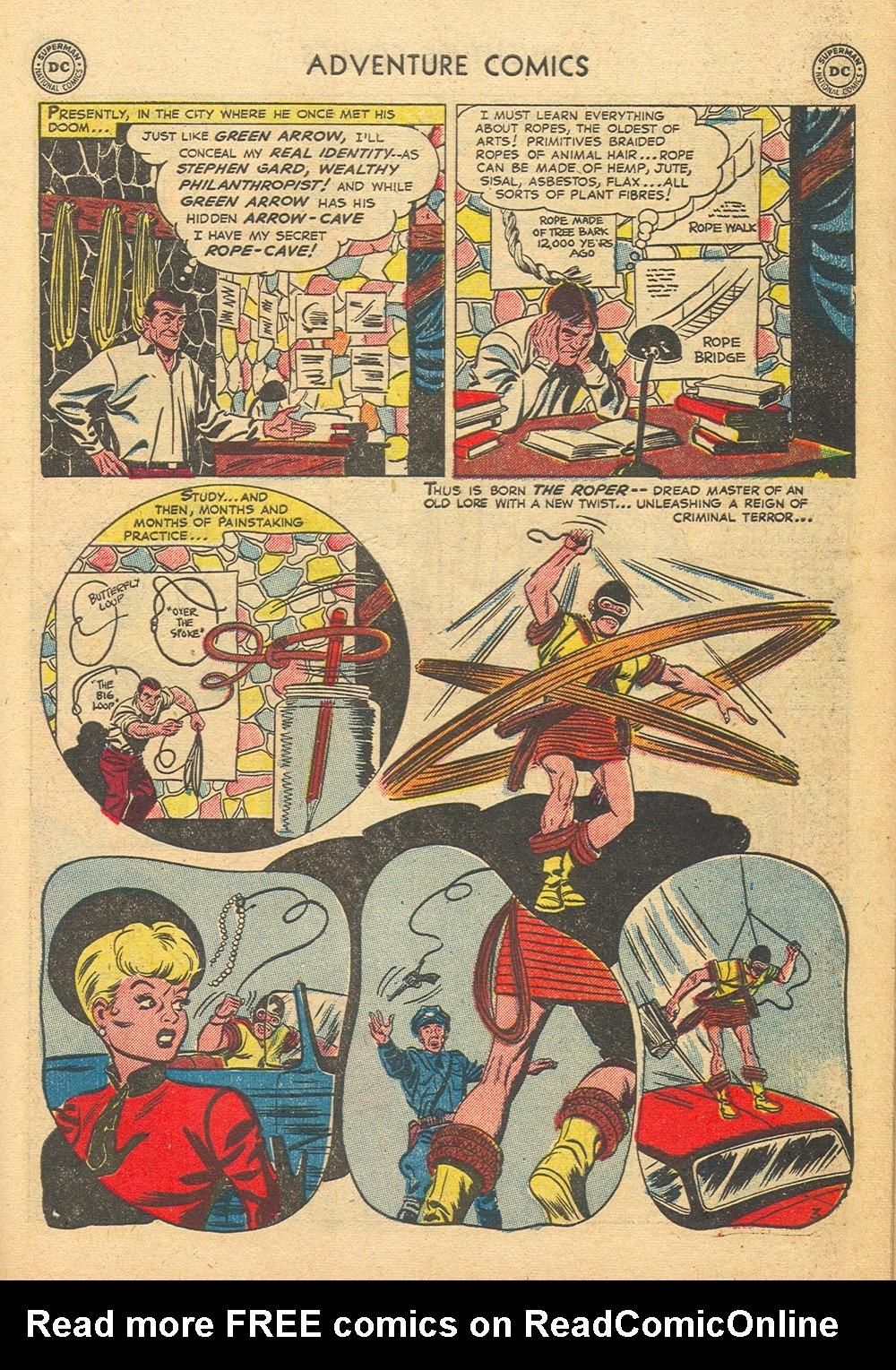 Read online Adventure Comics (1938) comic -  Issue #176 - 37