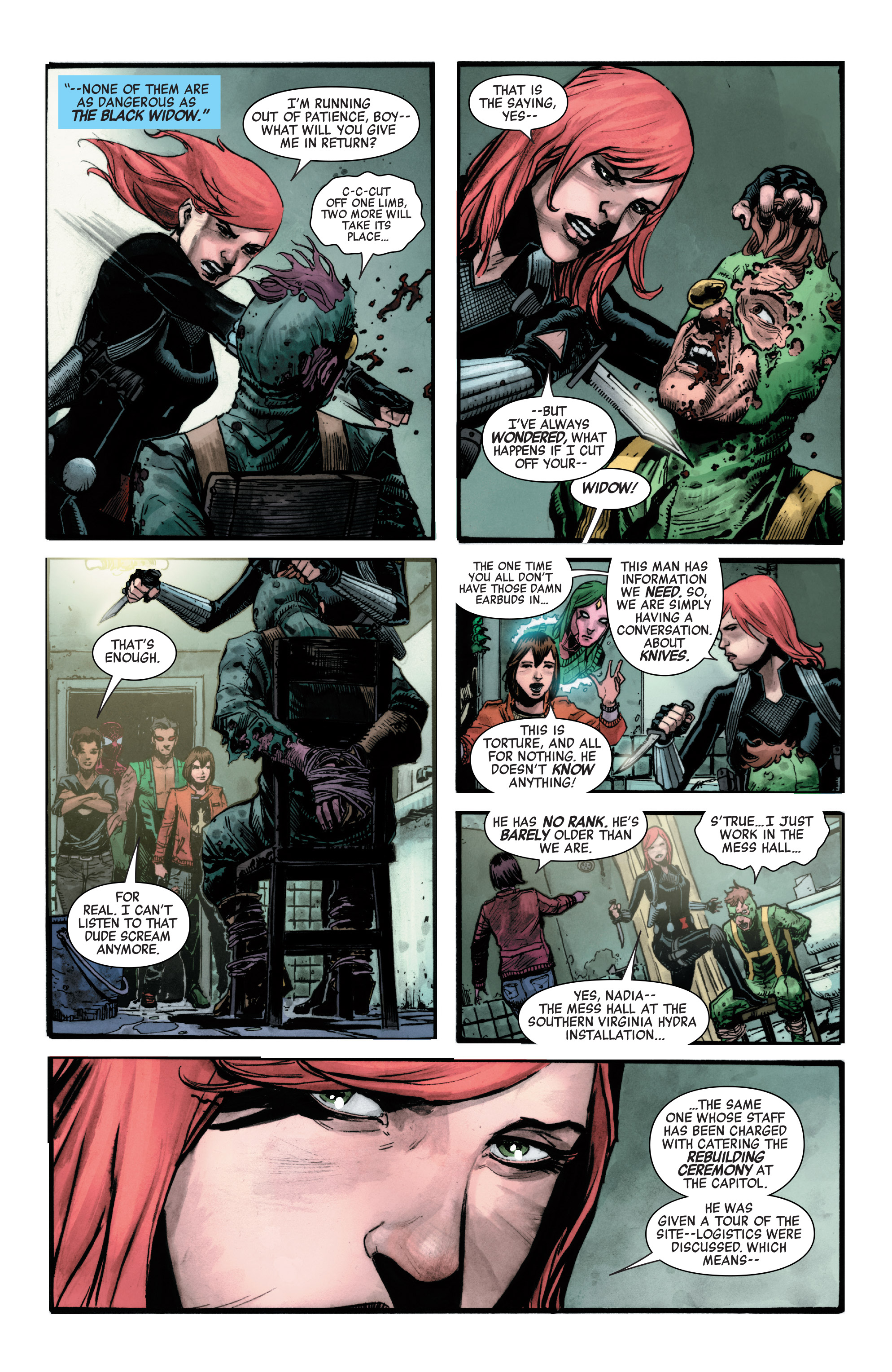 Read online Secret Empire comic -  Issue #4 - 7