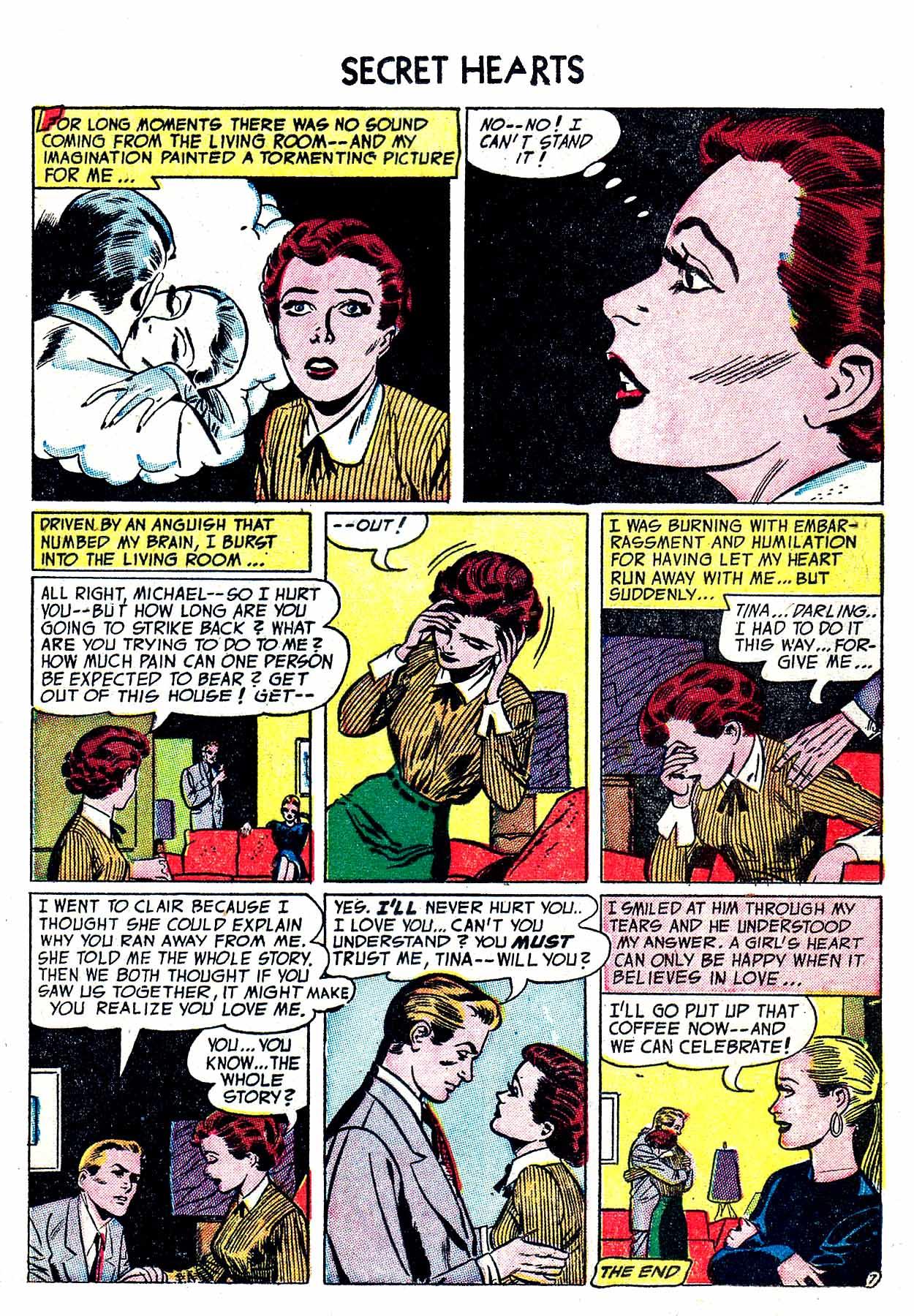 Read online Secret Hearts comic -  Issue #19 - 17