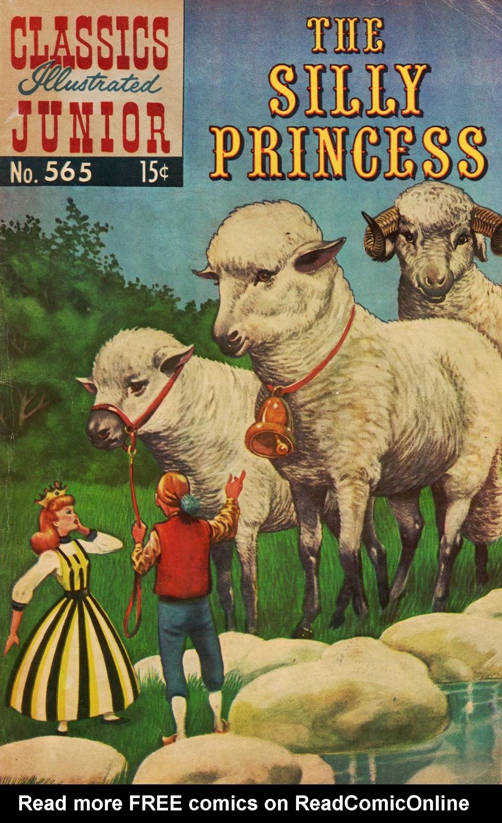 Classics Illustrated Junior 565 Page 1