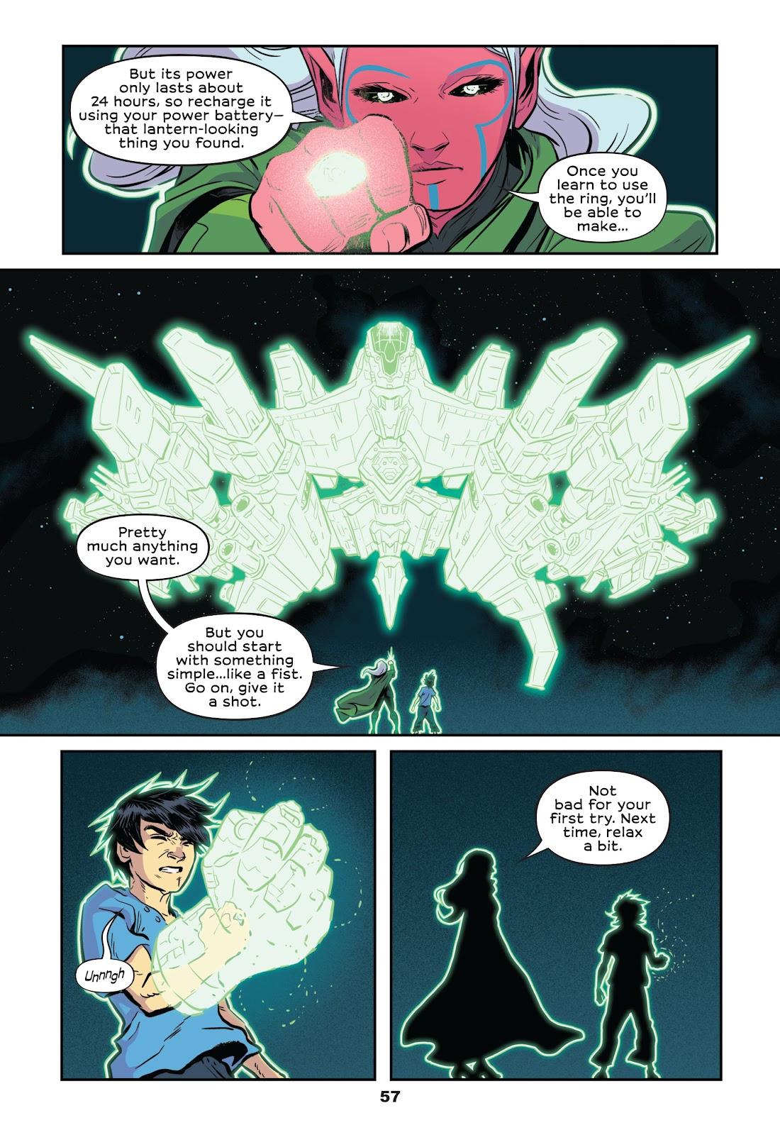 Read online Green Lantern: Legacy comic -  Issue # TPB - 55