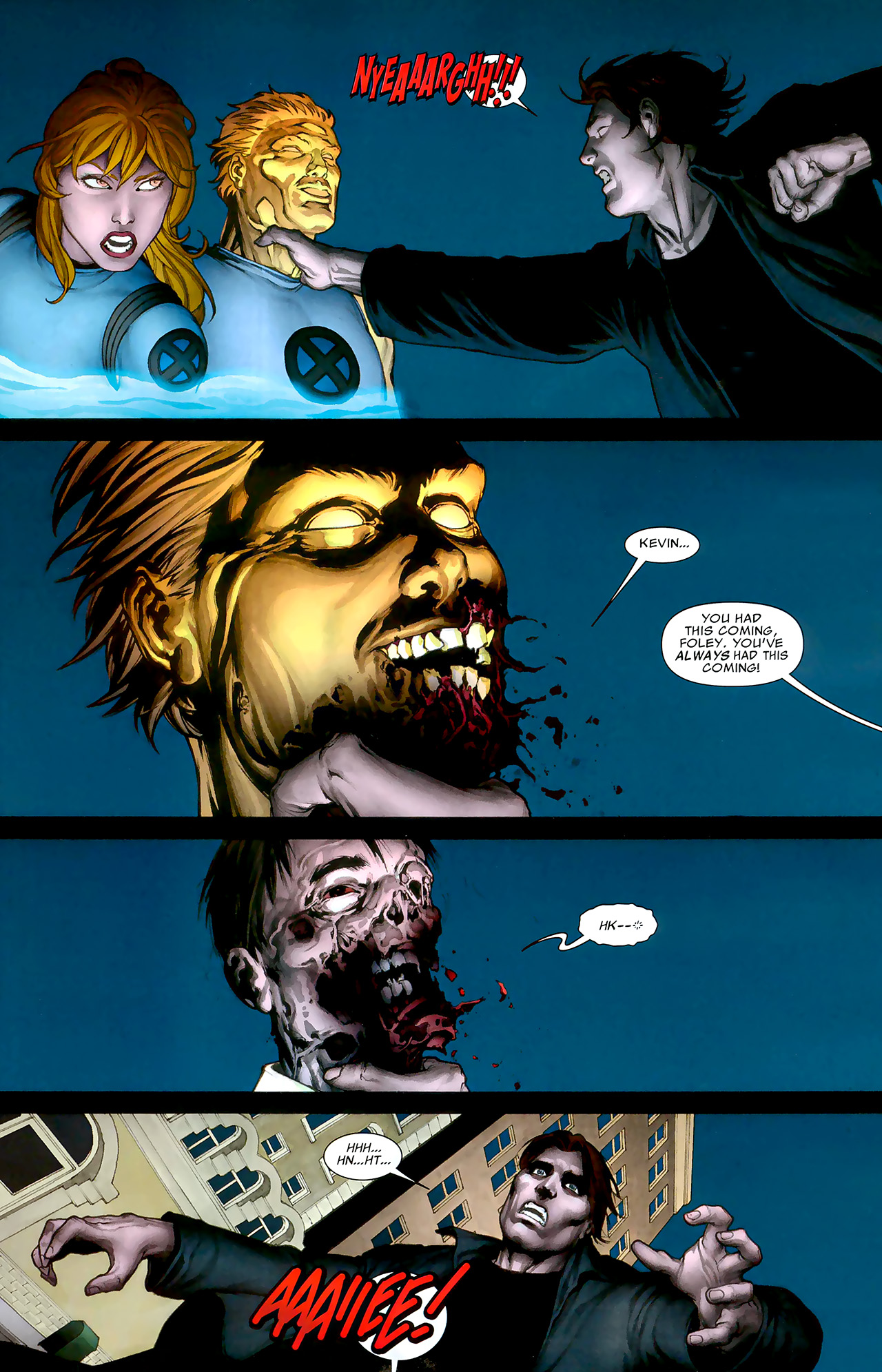 Read online X Necrosha: The Gathering comic -  Issue # Full - 9