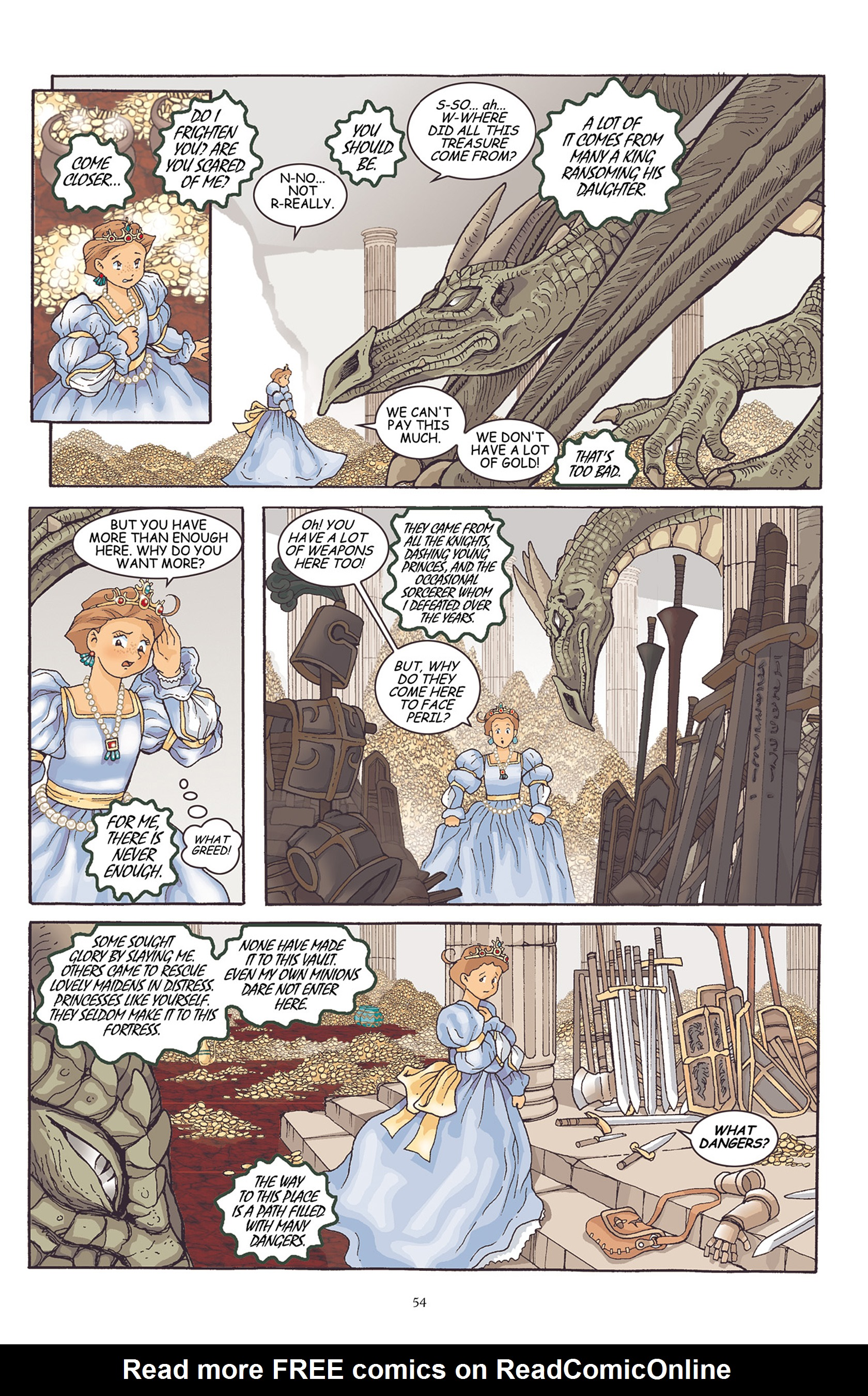 Read online Courageous Princess comic -  Issue # TPB 1 - 55
