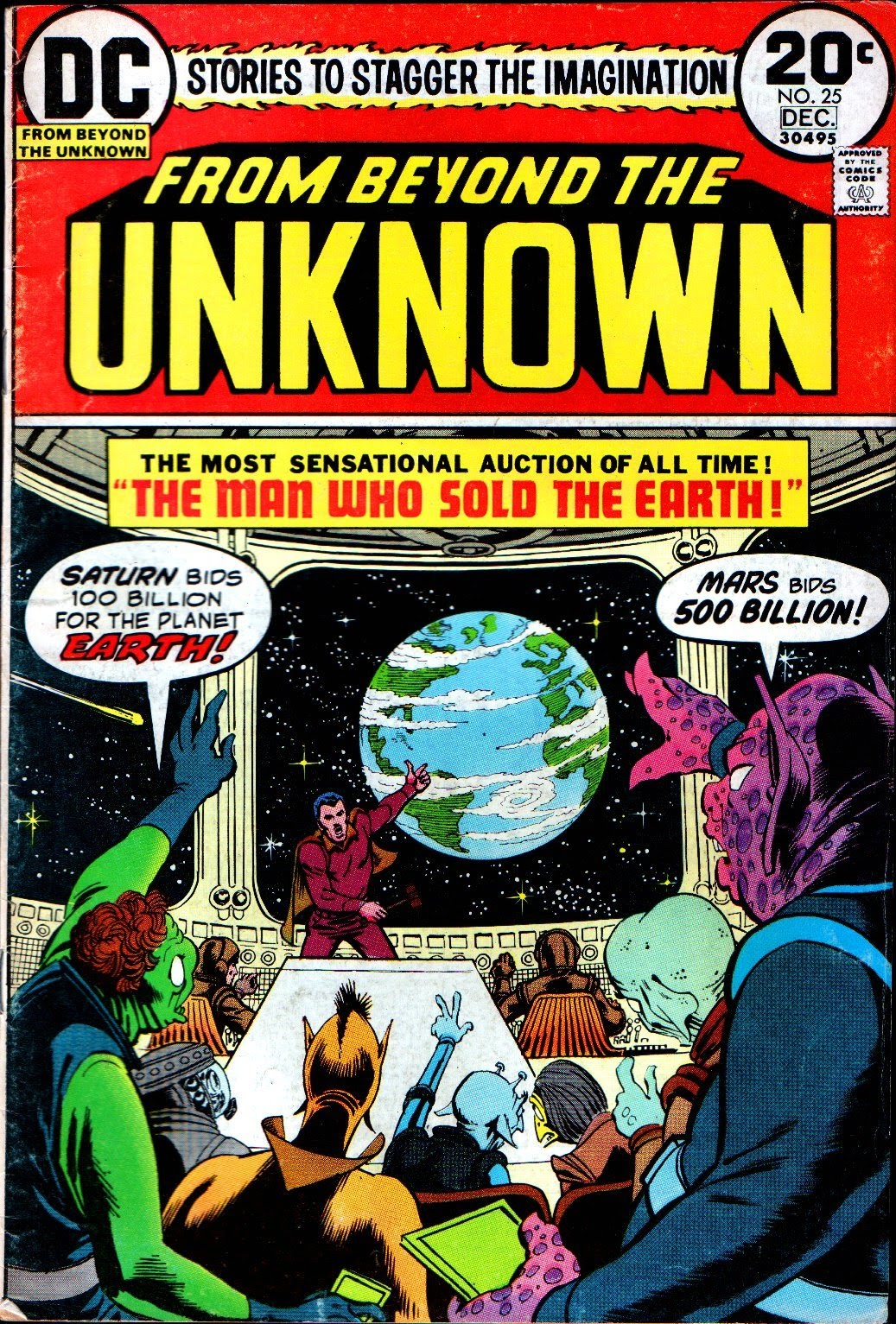 From Beyond the Unknown (1969) issue 25 - Page 1