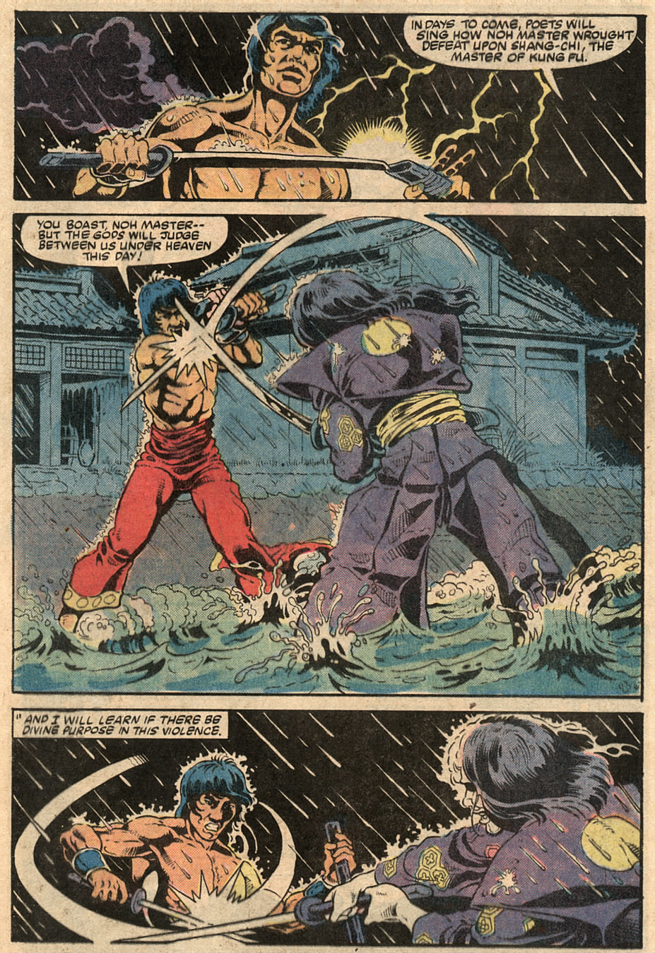 Read online Master of Kung Fu (1974) comic -  Issue #125 - 33