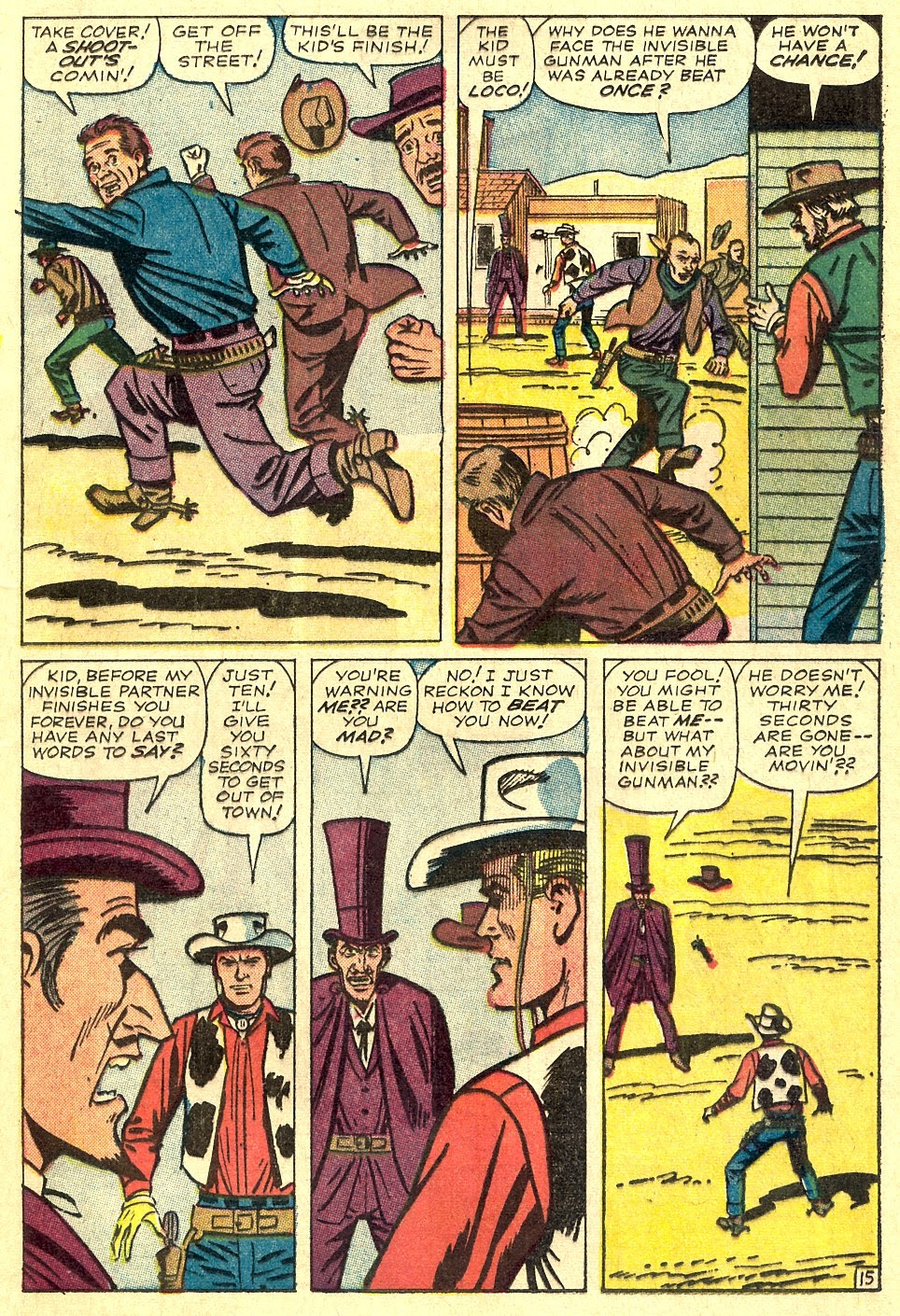 Kid Colt Outlaw issue 116 - Page 21