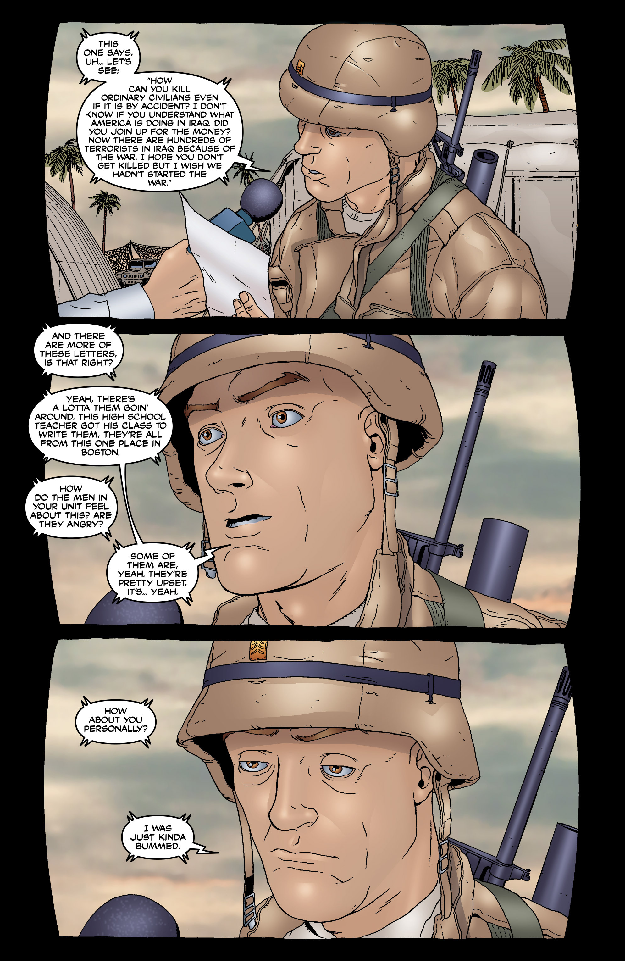 Read online 303 comic -  Issue #6 - 10