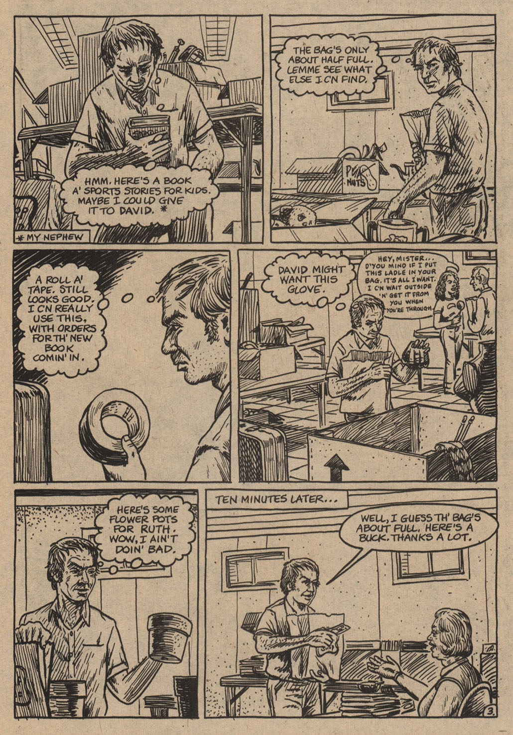American Splendor (1976) issue 6 - Page 38